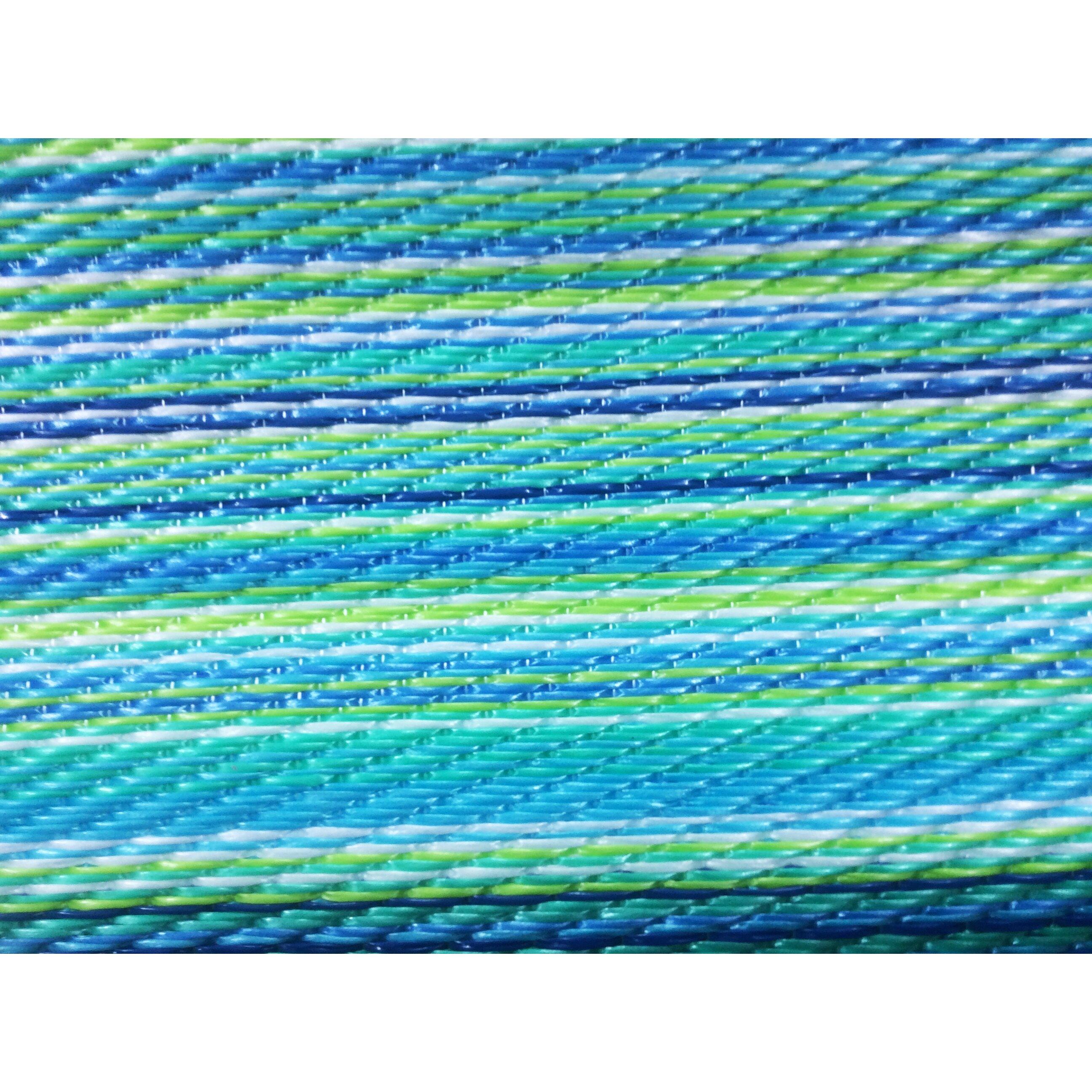 Green Decore Blue Green Indoor Outdoor Area Rug & Reviews