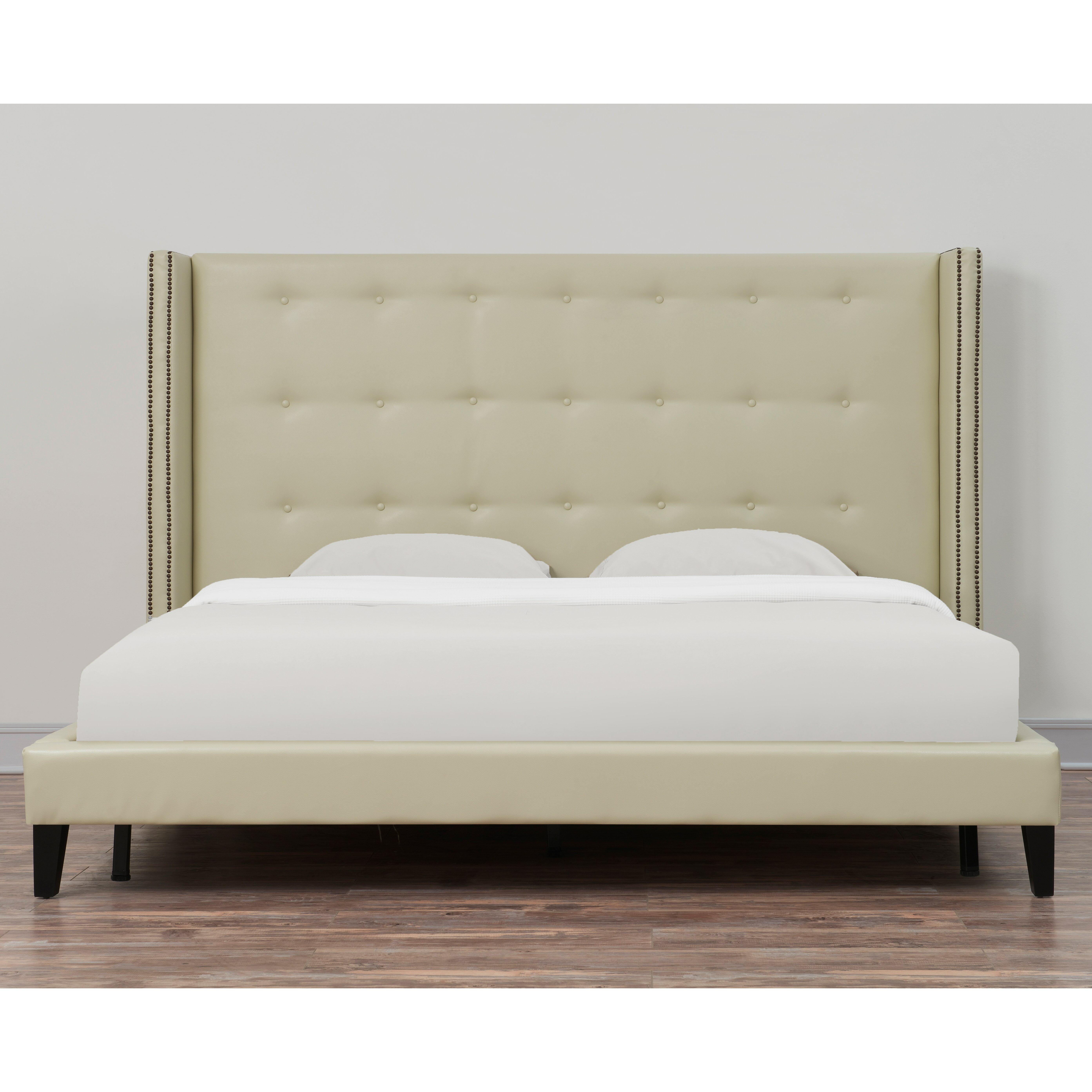 Tov Upholstered Platform Bed Reviews Wayfair