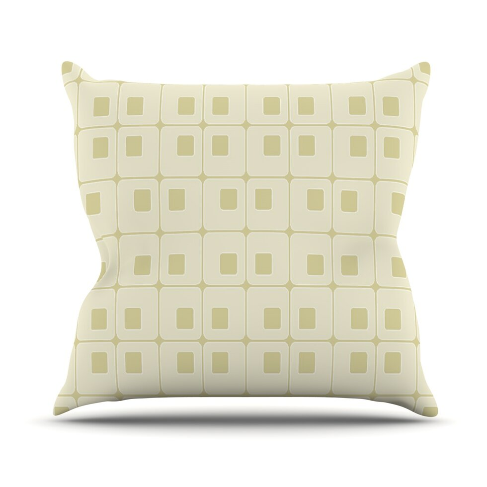 Types Of Decorative Pillow Shapes : KESS InHouse Fotios Pavlopoulos Shapes Throw Pillow Wayfair.ca