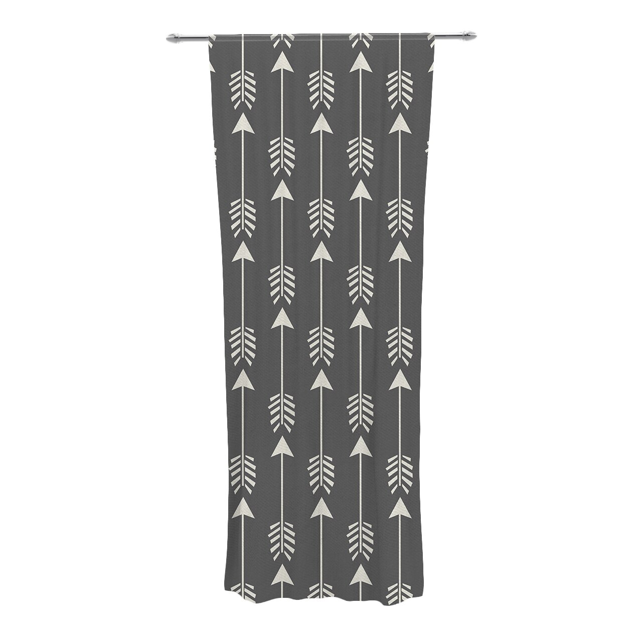 KESS InHouse Tribal Arrows Curtain Panels & Reviews