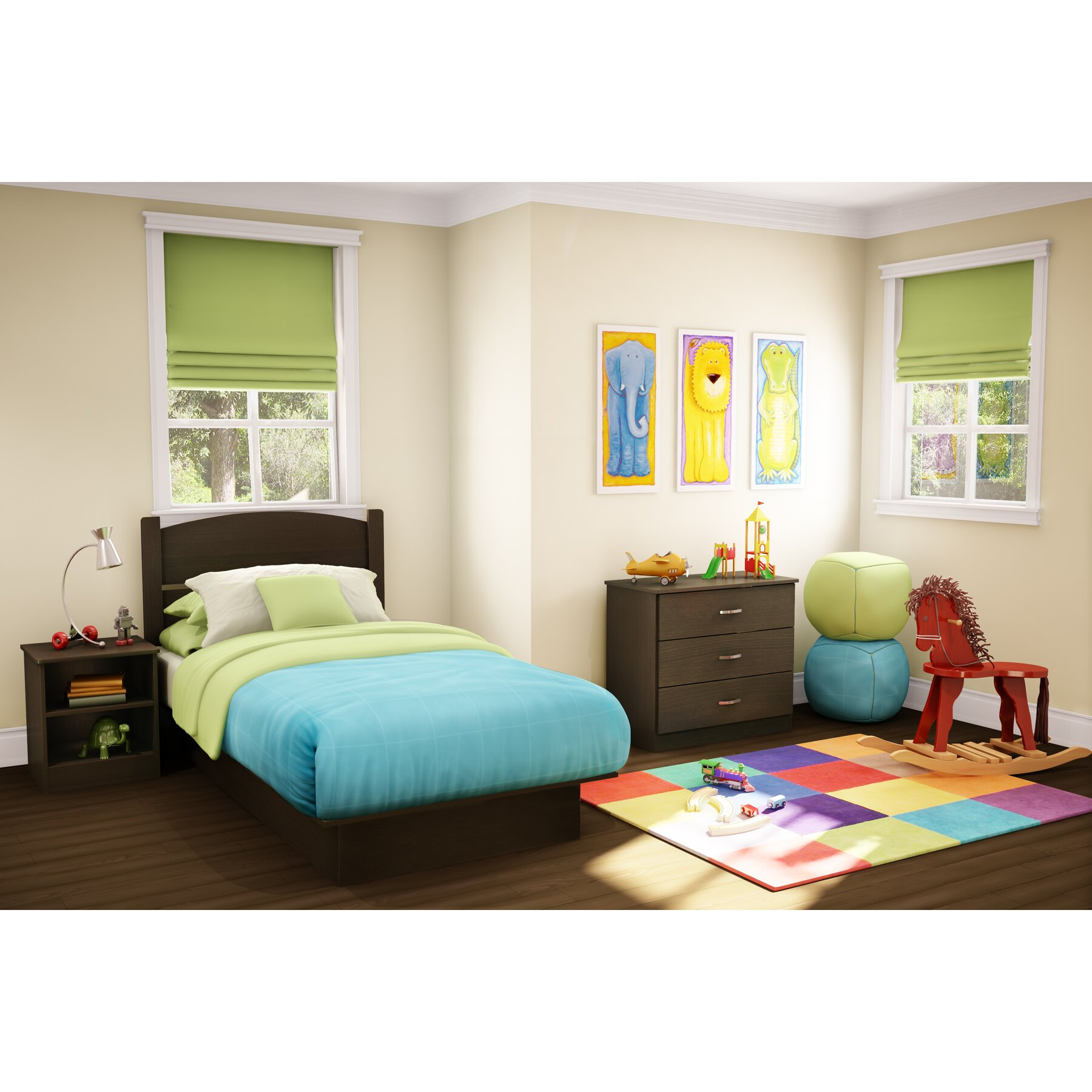 South Shore Libra Panel 3 Piece Bedroom Set Reviews