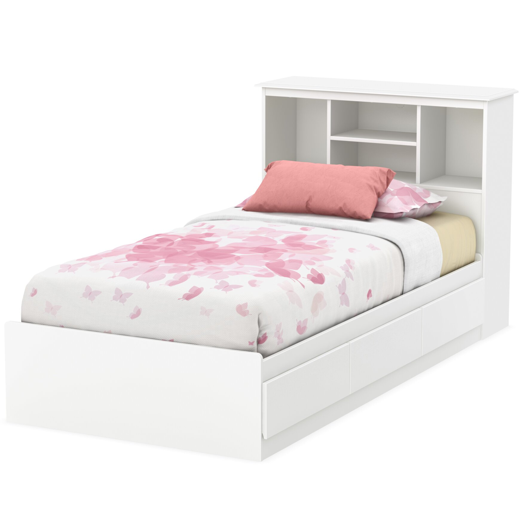 South Shore Callesto Twin Mate 39 S Bed With Storage