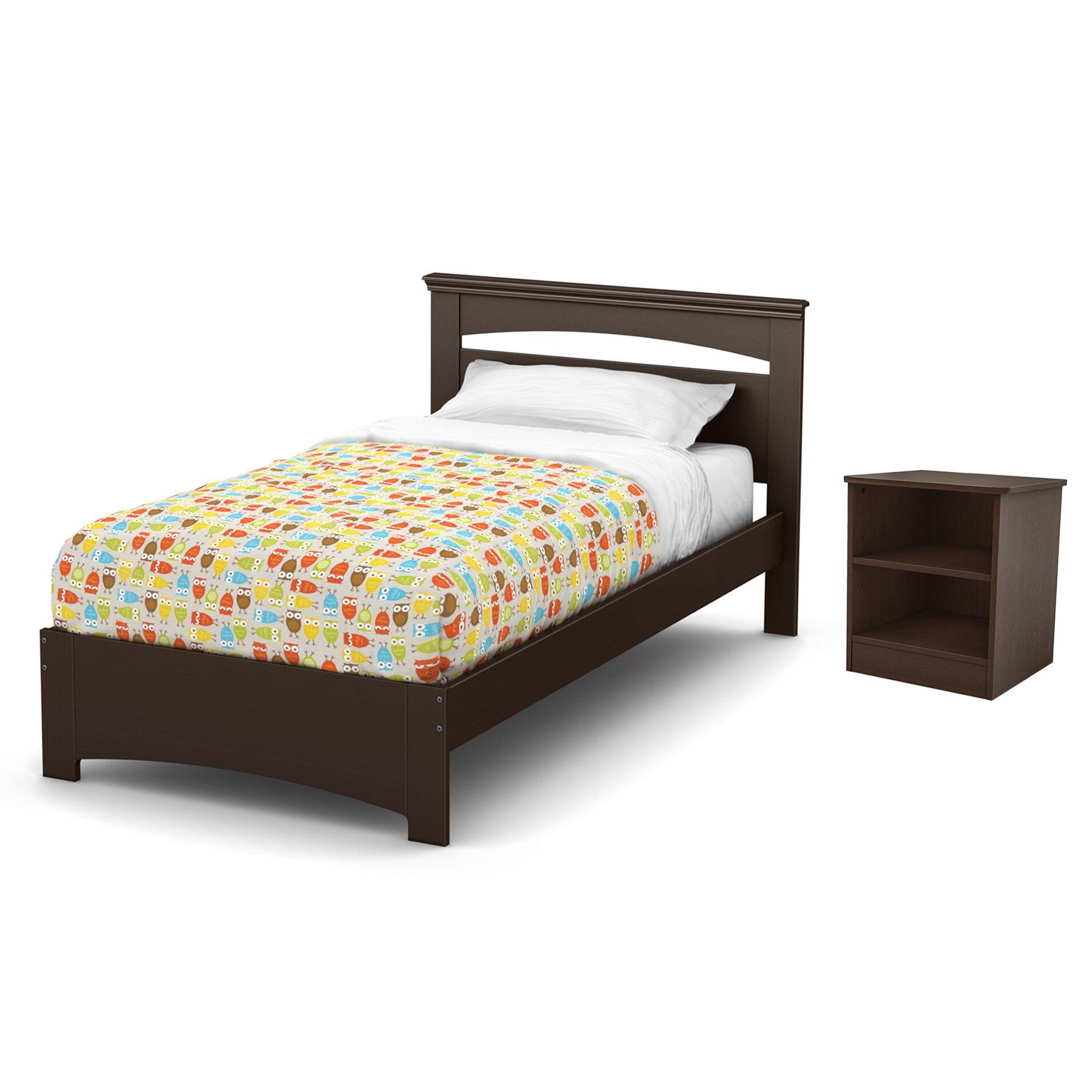 South Shore Libra Twin Platform Bed Amp Reviews Wayfair