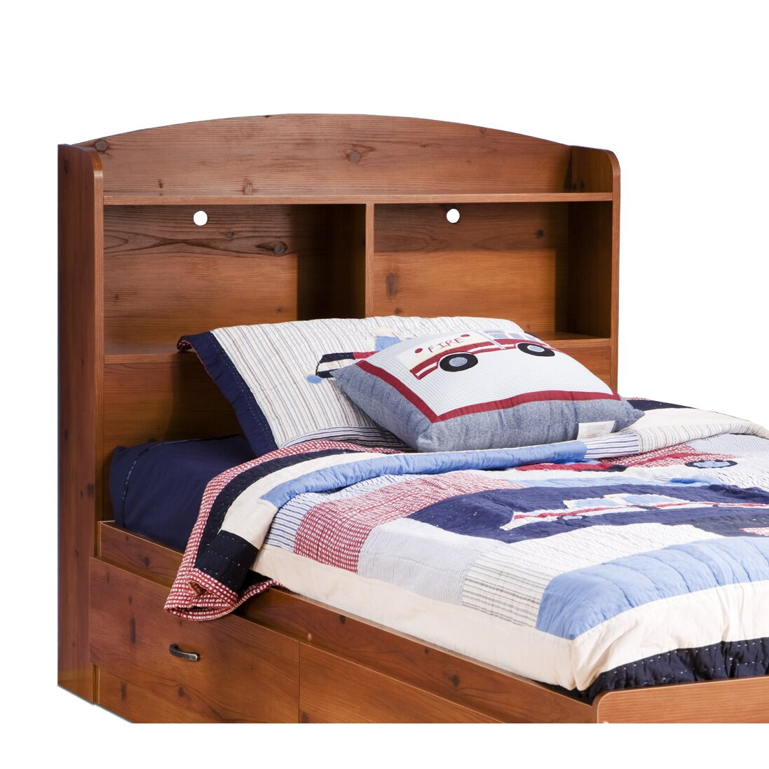 south shore logik platform customizable bedroom set