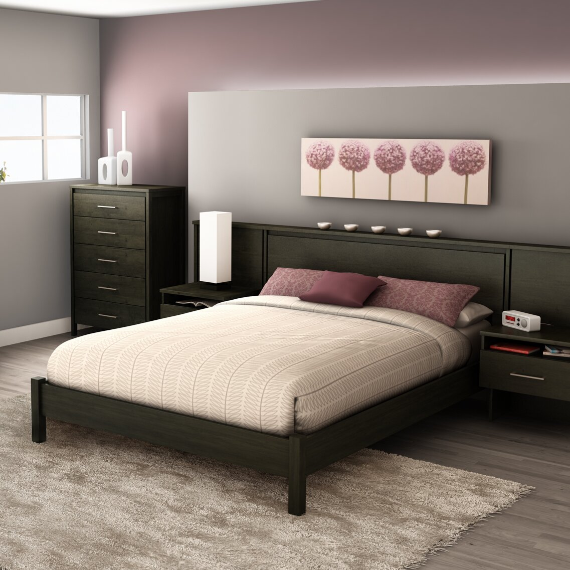 South Shore Gravity 38in Tall Queen Platform Bed Reviews