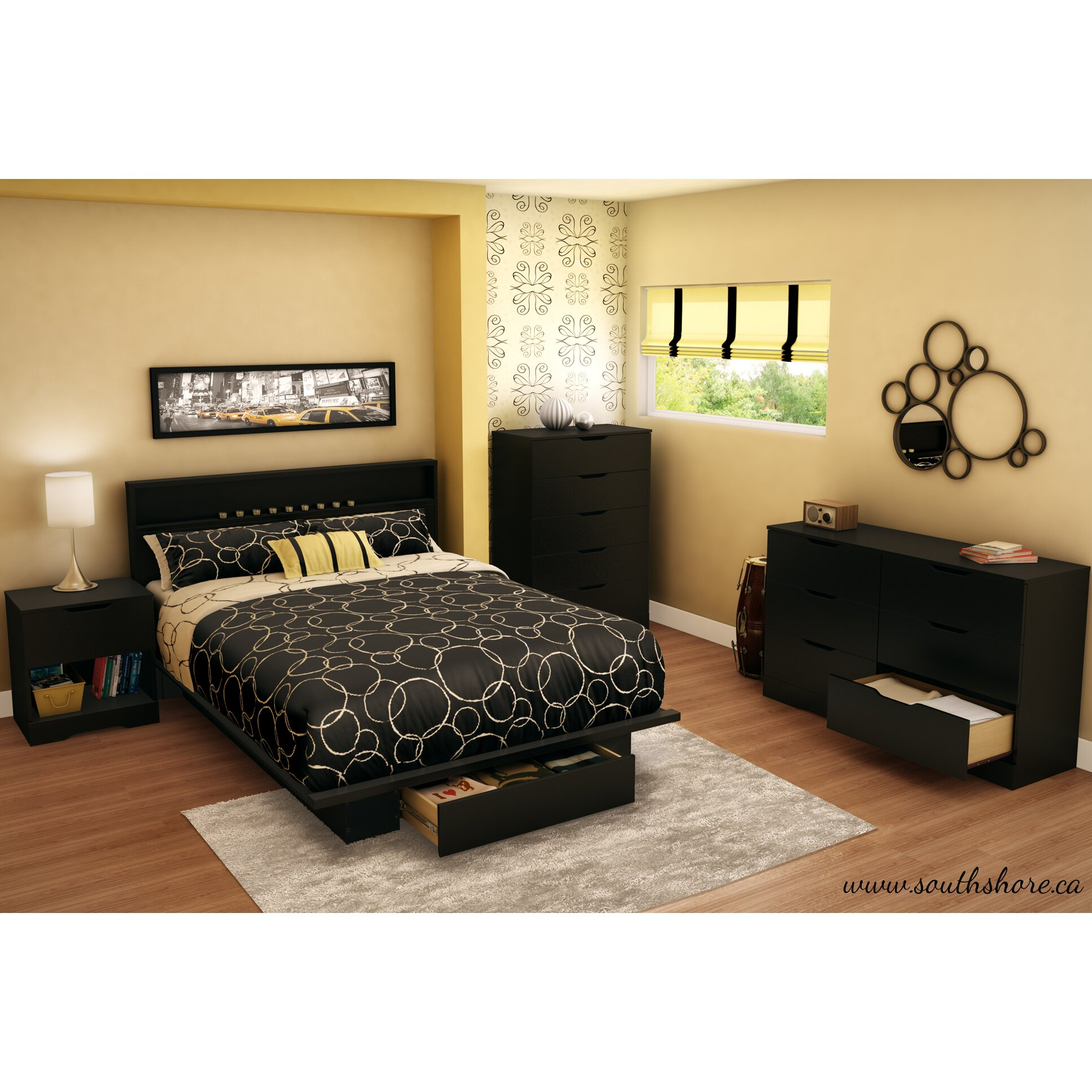 South Shore Full/Queen Storage Platform Bed & Reviews