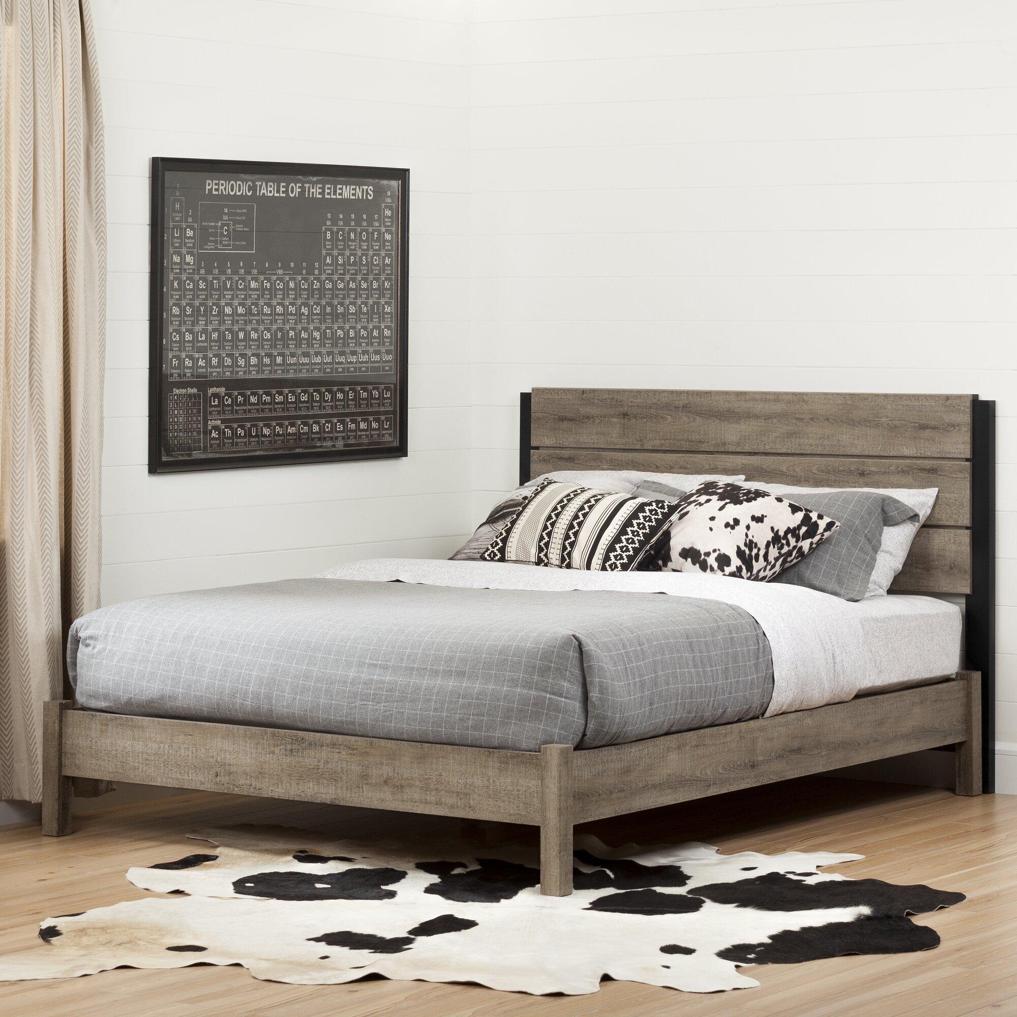 south shore munich bed frame reviews wayfair
