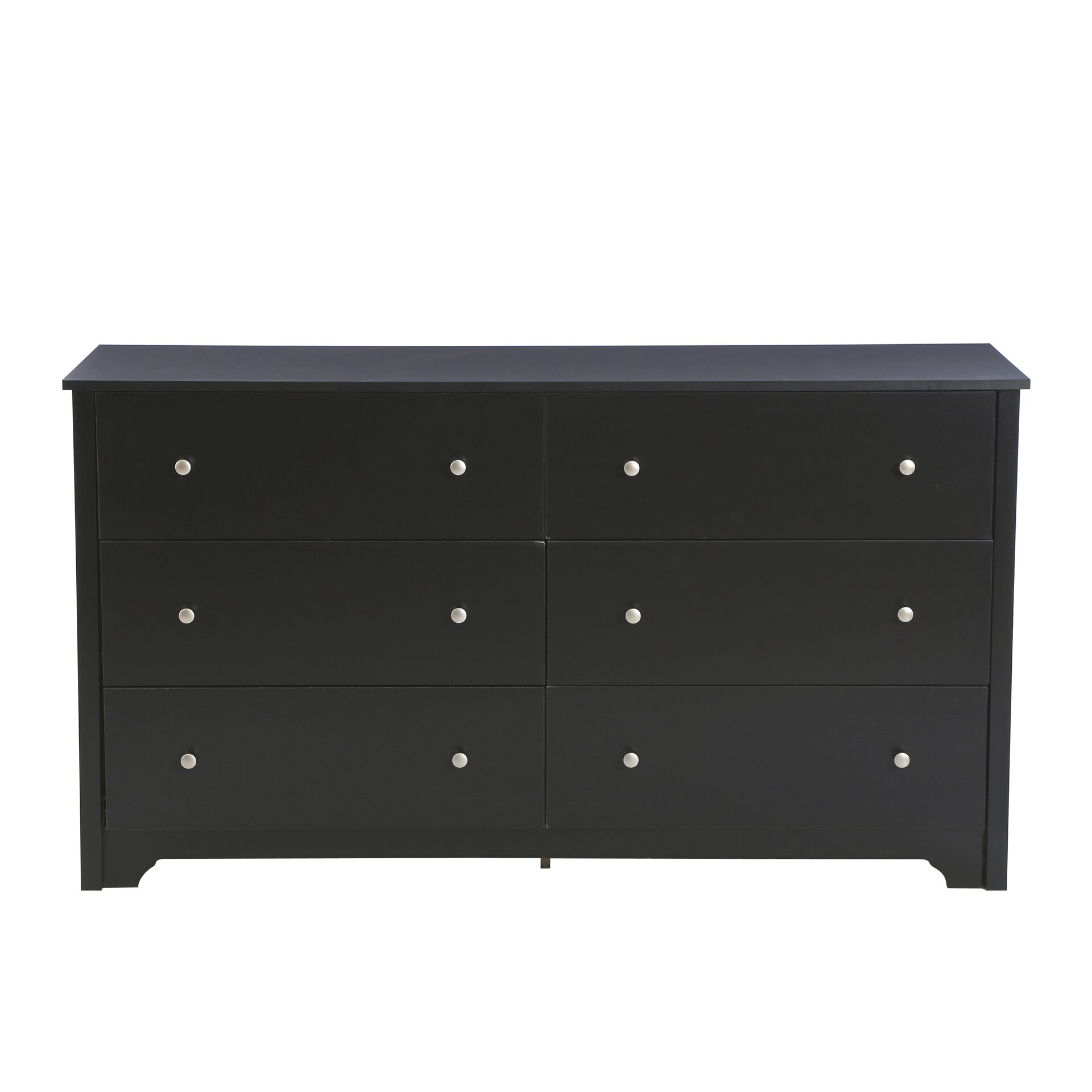 #71685A South Shore Vito 6 Drawer Double Dresser In Pure Black & Reviews  with 1920x1920 px of Most Effective 6 Drawer Black Dresser 19201920 wallpaper @ avoidforclosure.info
