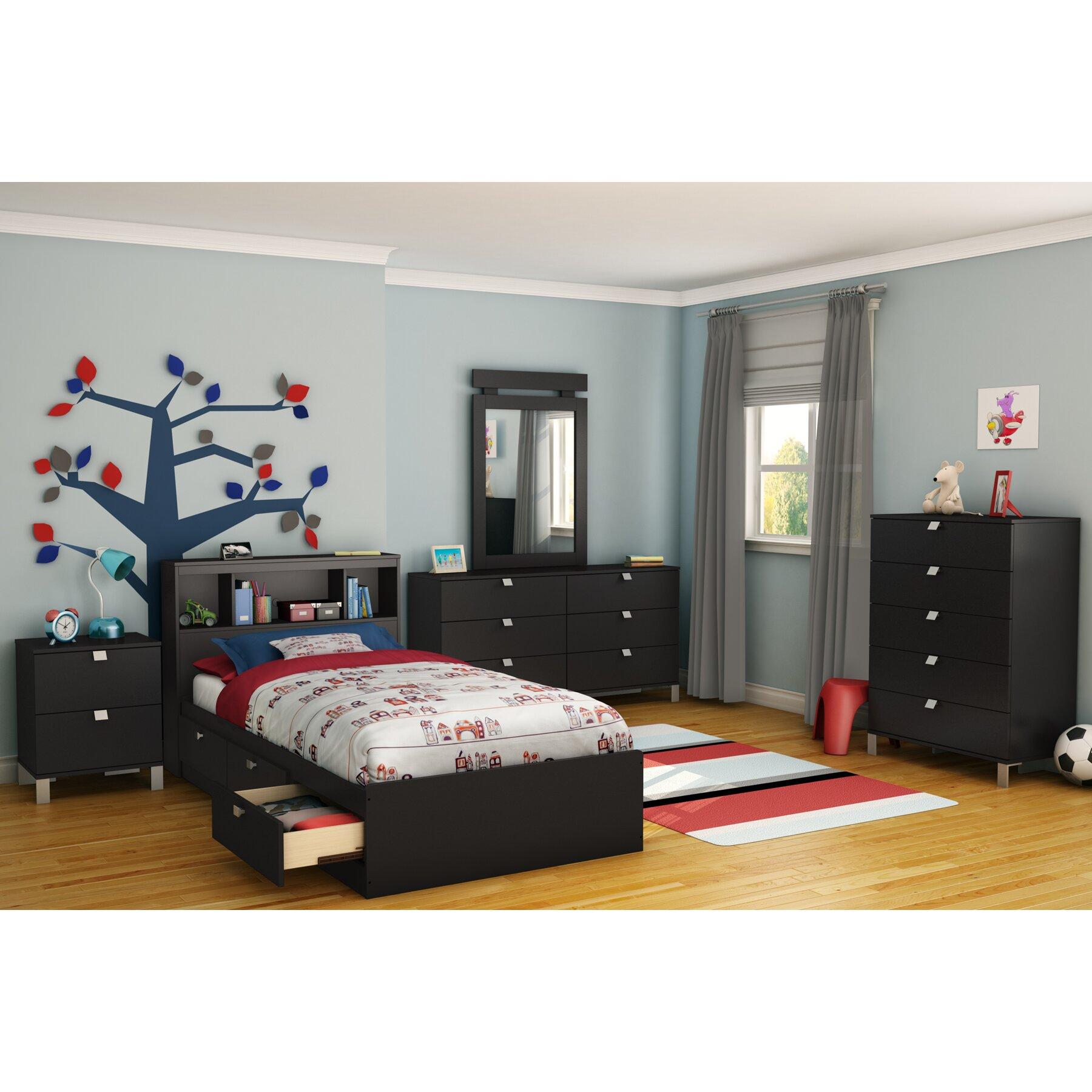 South Shore Spark Platform Customizable Bedroom Set Reviews Wayfair