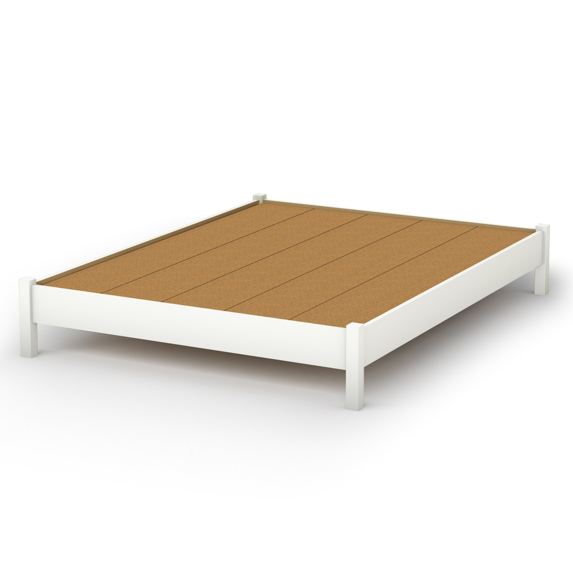South Shore Step One Platform Bed & Reviews | Wayfair