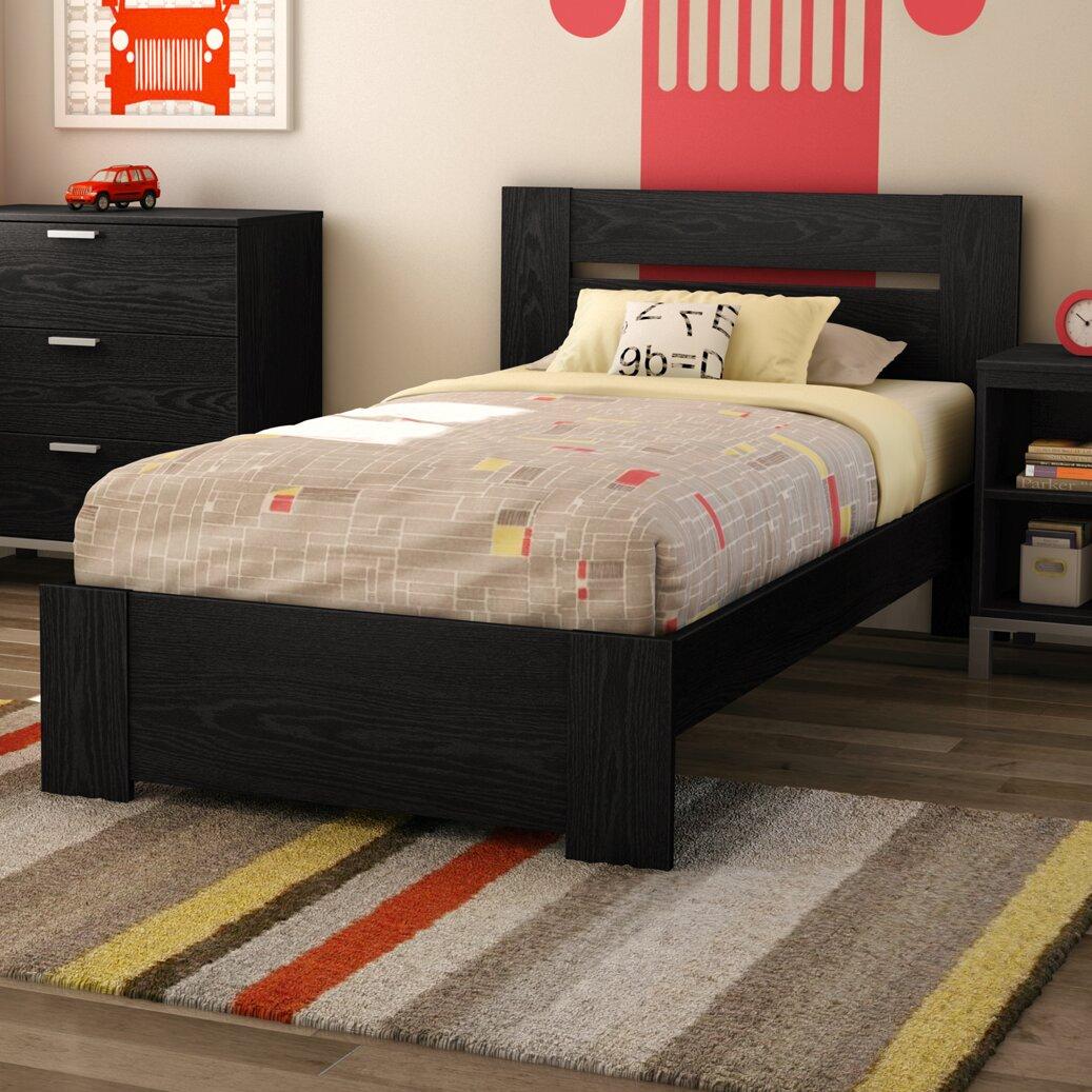 South Shore Flexible Twin Panel Customizable Bedroom Set
