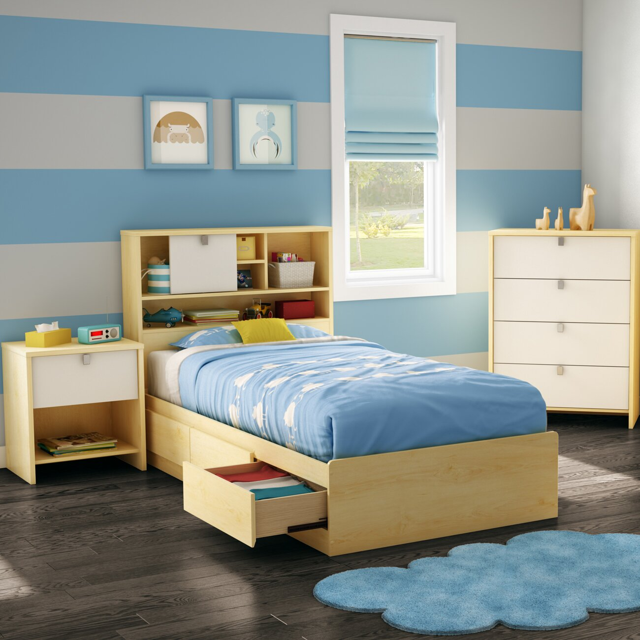 ... Bedroom Furniture ... Standard Kids Bedroom Sets South Shore SKU