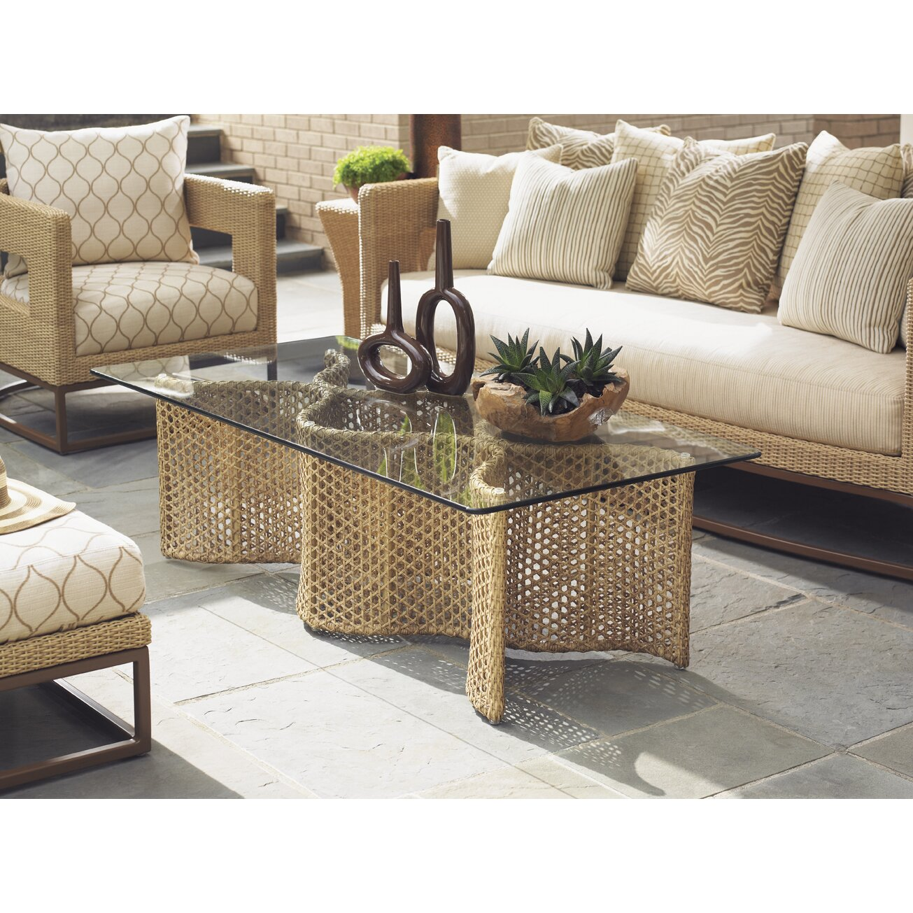 Tommy Bahama Outdoor Aviano Coffee Table Reviews Wayfair