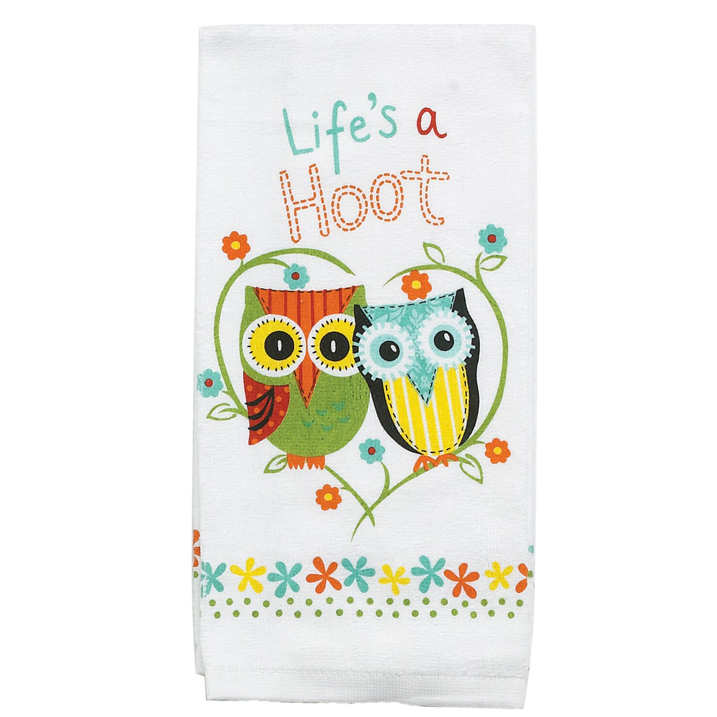 kay dee designs life s a hoot terry kitchen towel kay dee designs beach signs terry kitchen towel boscov s