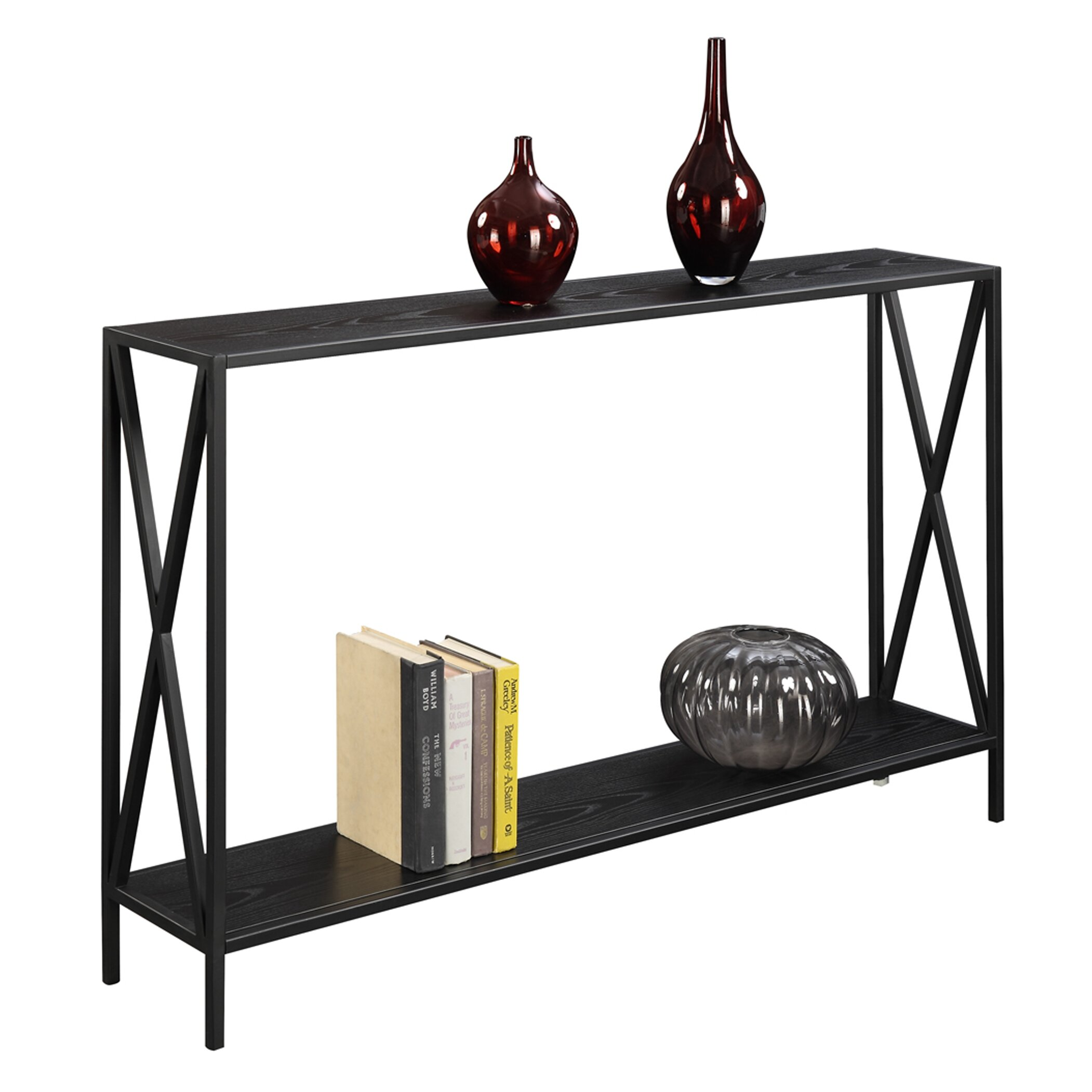 Convenience Concepts Tucson Console Table Amp Reviews Wayfair