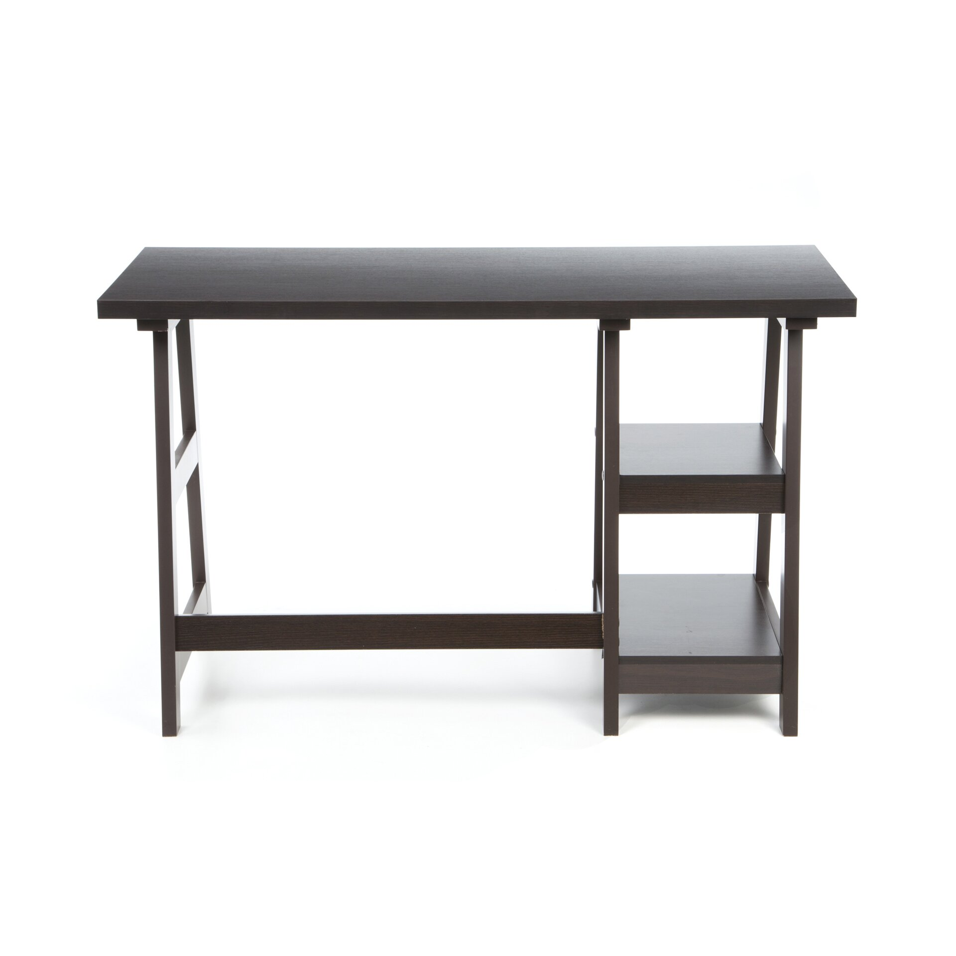 trestle office desk. convenience concepts trestle writing desk reviews wayfair office