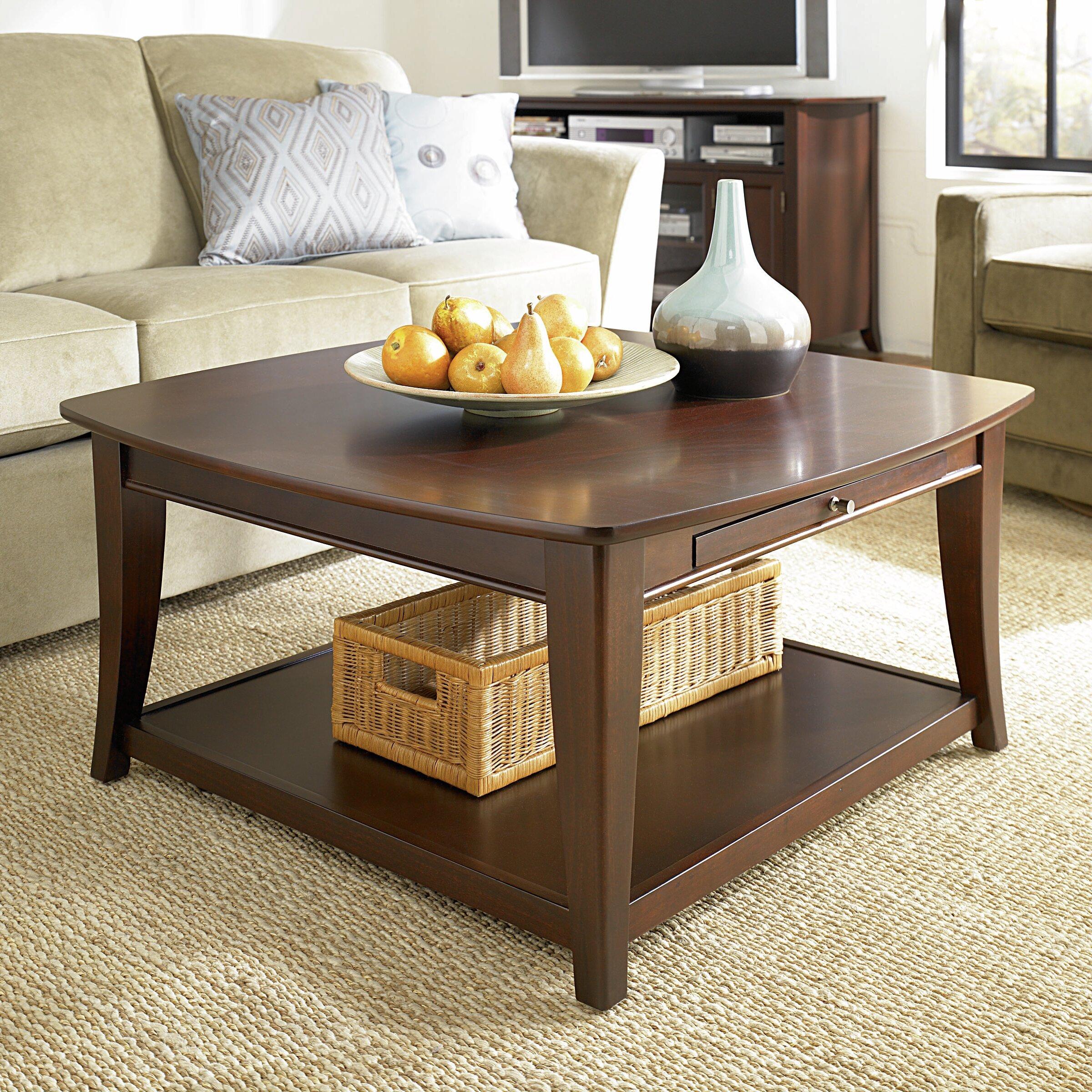 hammary enclave coffee table reviews wayfair. Black Bedroom Furniture Sets. Home Design Ideas