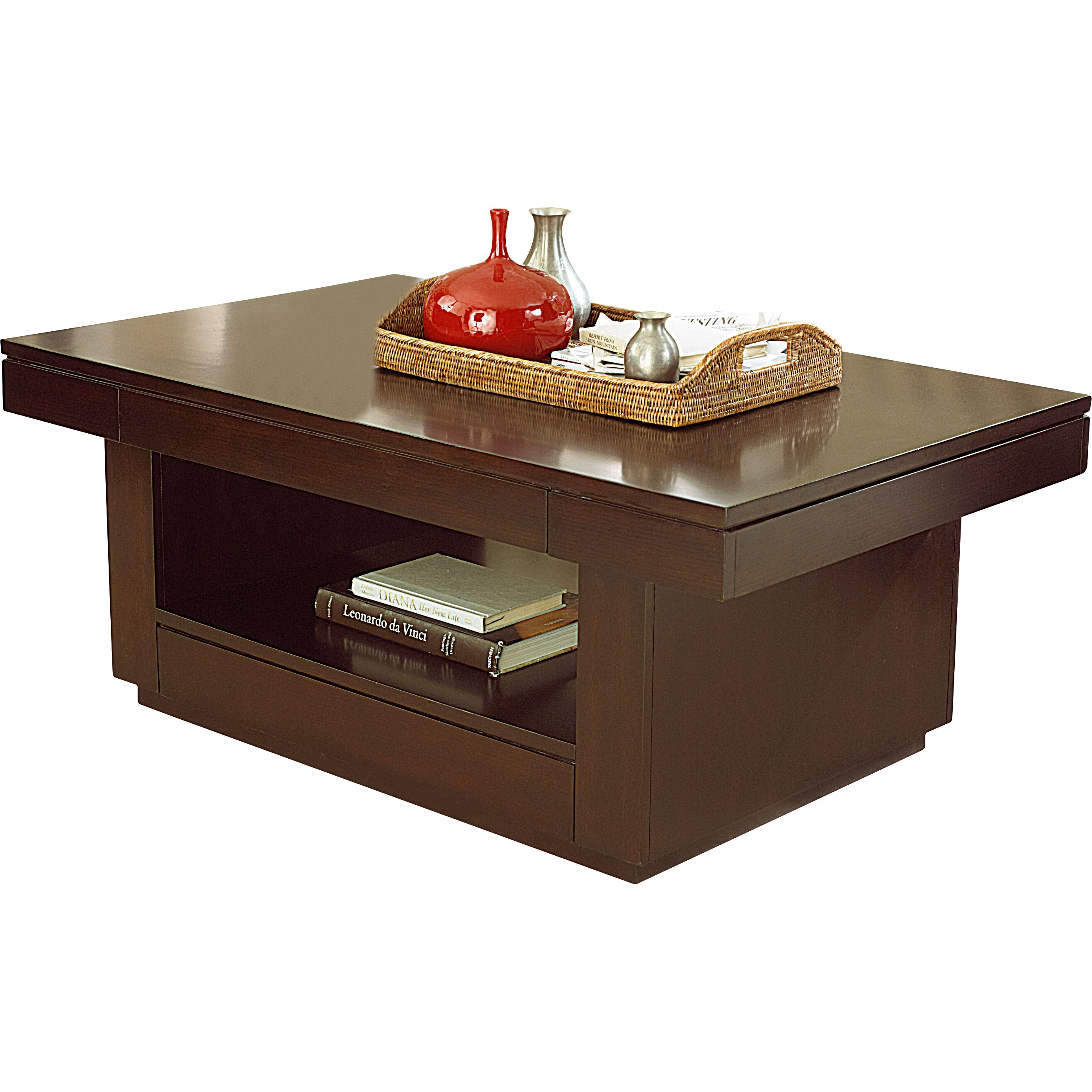 Hammary Uptown Coffee Table With Lift Top Reviews
