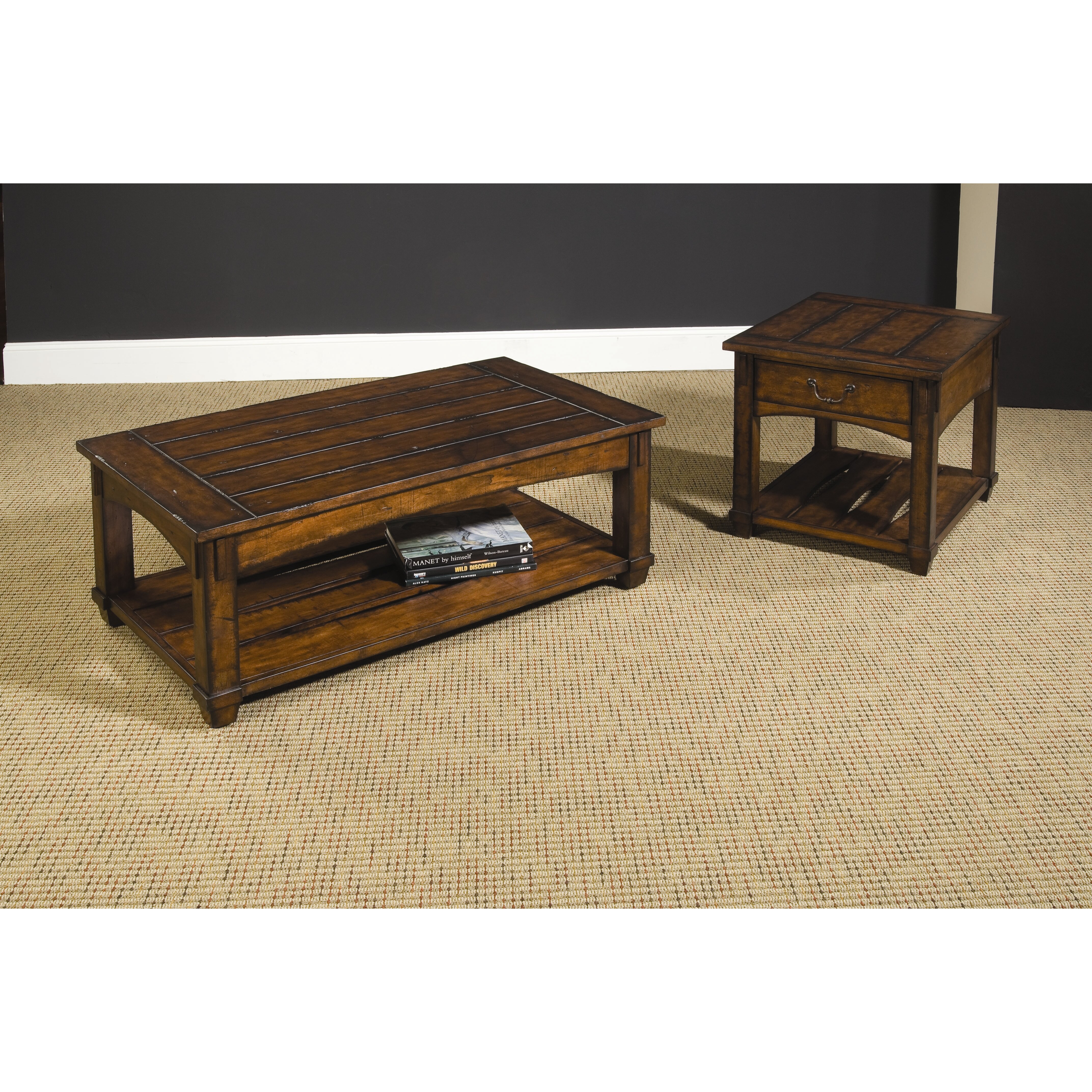 Hammary tacoma coffee table set reviews wayfair for Furniture in tacoma