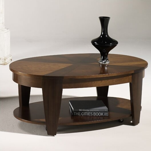 Hammary oasis coffee table reviews wayfair for Wayfair oval coffee table