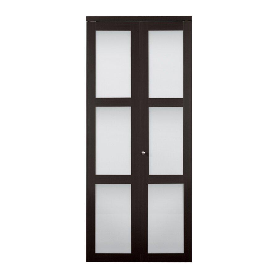 baldarassario wood 2 panel painted bi fold interior door by erias home
