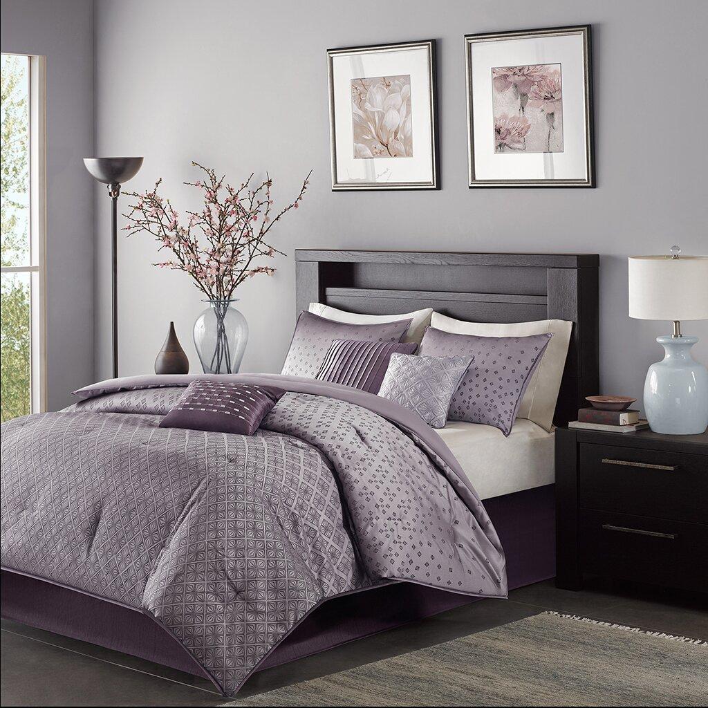 Madison Park Biloxi 7 Piece Comforter Set Amp Reviews Wayfair