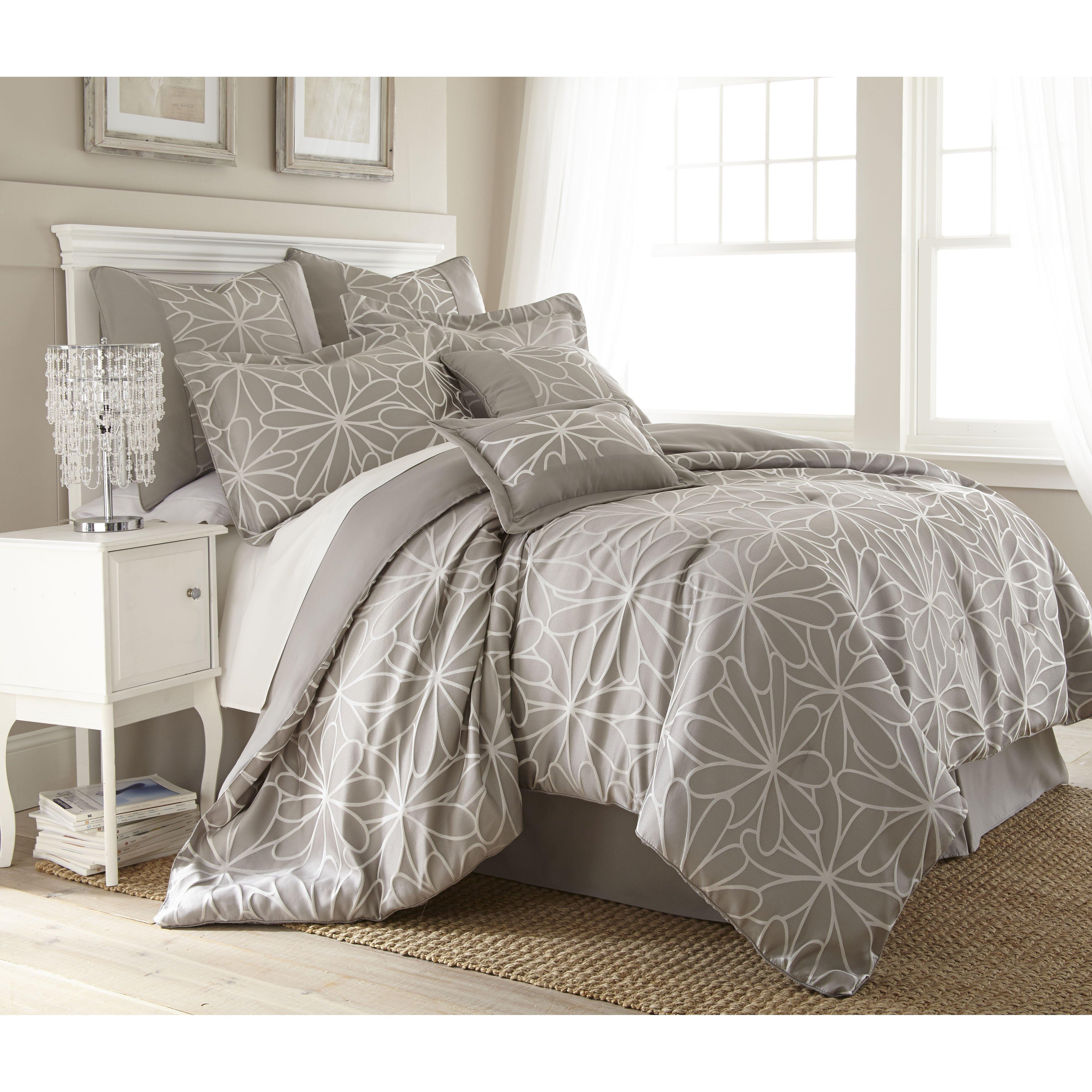 Colonial textiles kate 8 piece comforter set reviews for Juego de recamara queen