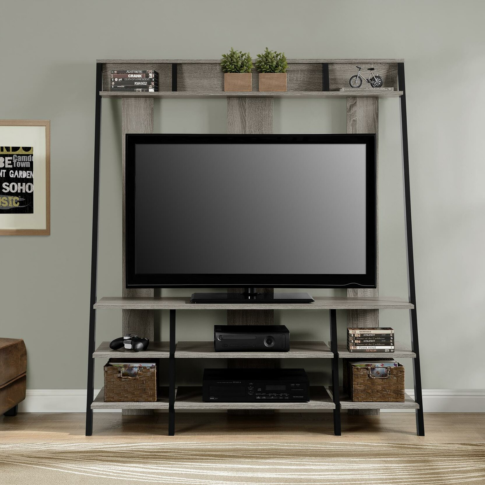 Altra moore tv stand reviews wayfair for Tv furniture