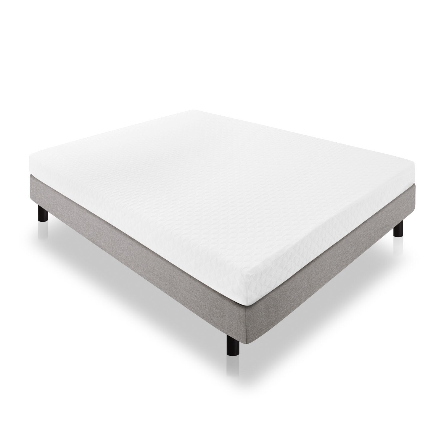 "Lucid 6"" Memory Foam Mattress & Reviews"