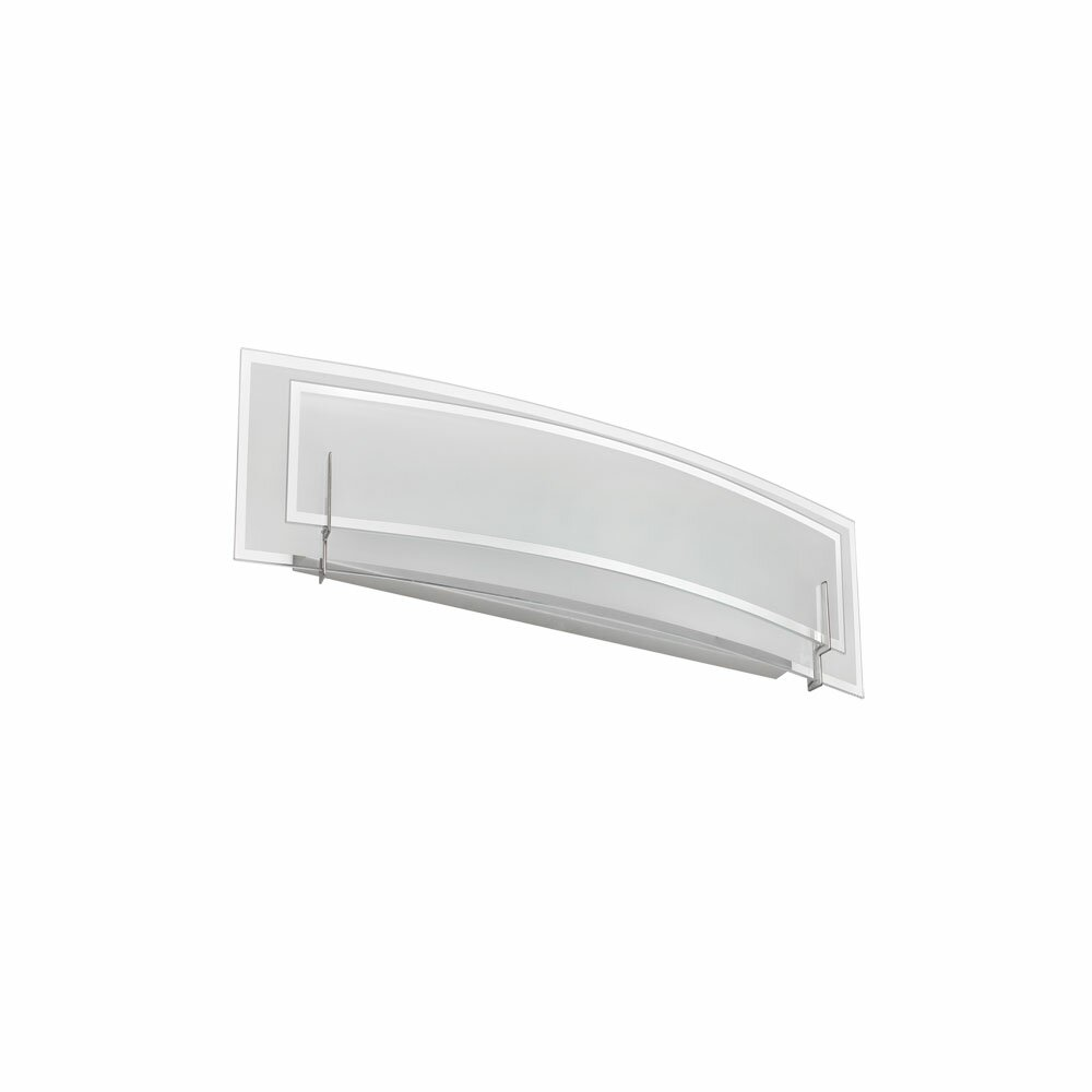 Dainolite Clear/Frosted Glass 2 Light Bath Bar & Reviews Wayfair