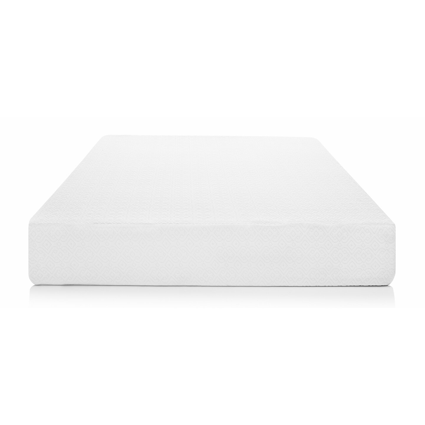 "Lucid 12"" Plush Viscoelastic Gel Memory Foam Mattress"
