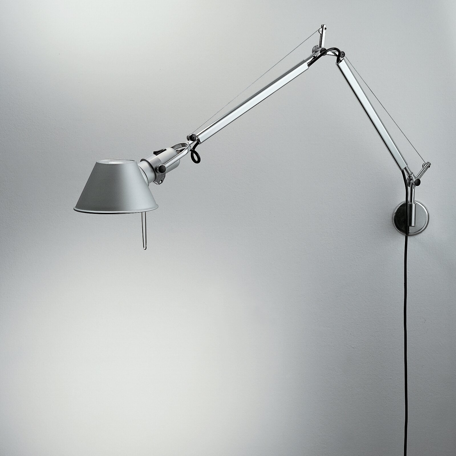 artemide tolomeo mini wall lamp reviews wayfair. Black Bedroom Furniture Sets. Home Design Ideas
