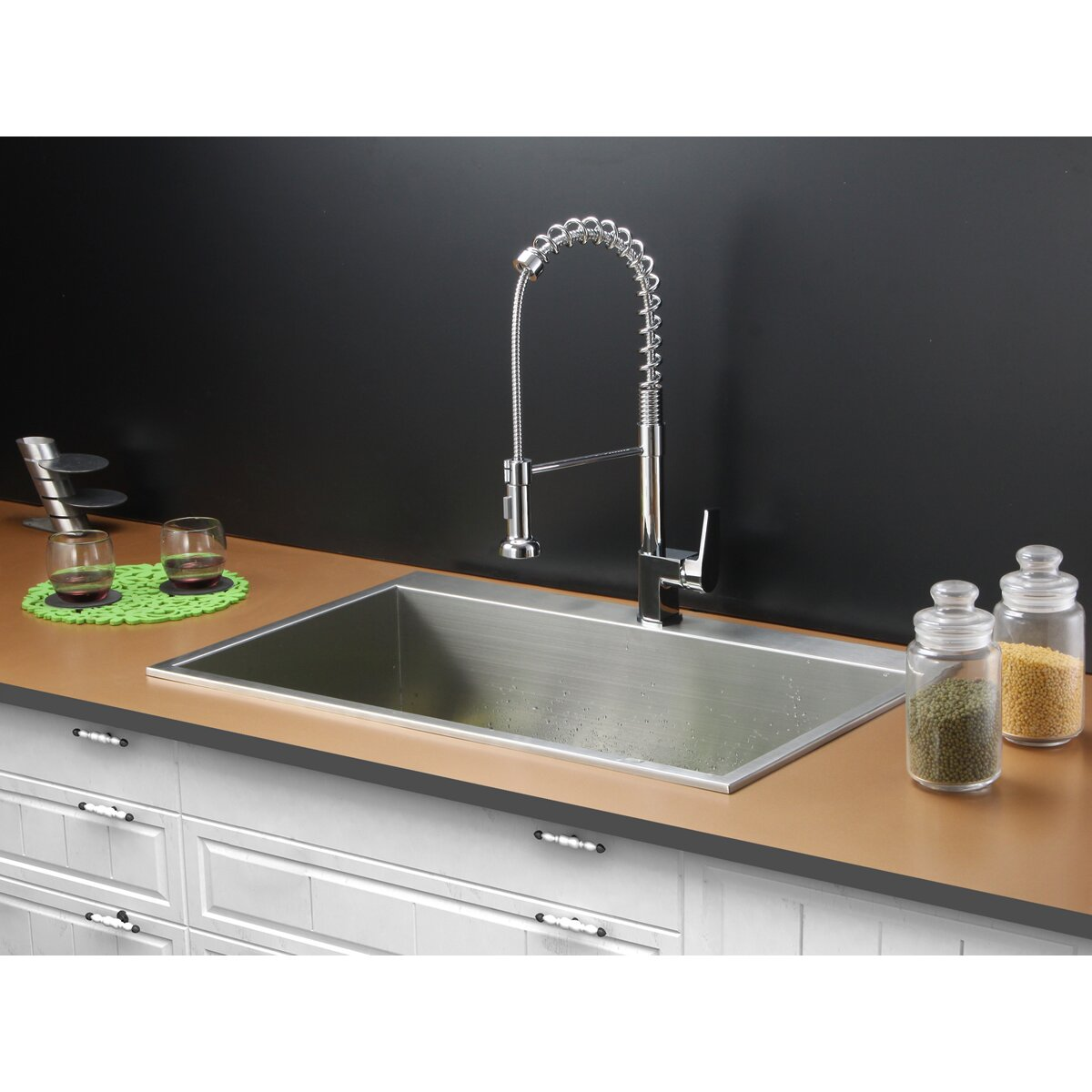 Drop In Sinks For Kitchen : Ruvati 33