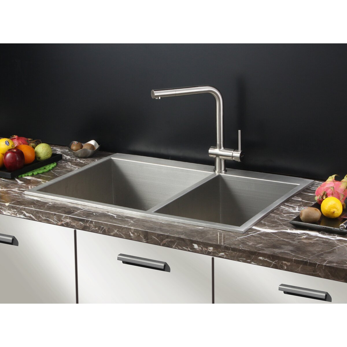 Drop In Kitchen Sinks Double Bowl : ... Tirana 33