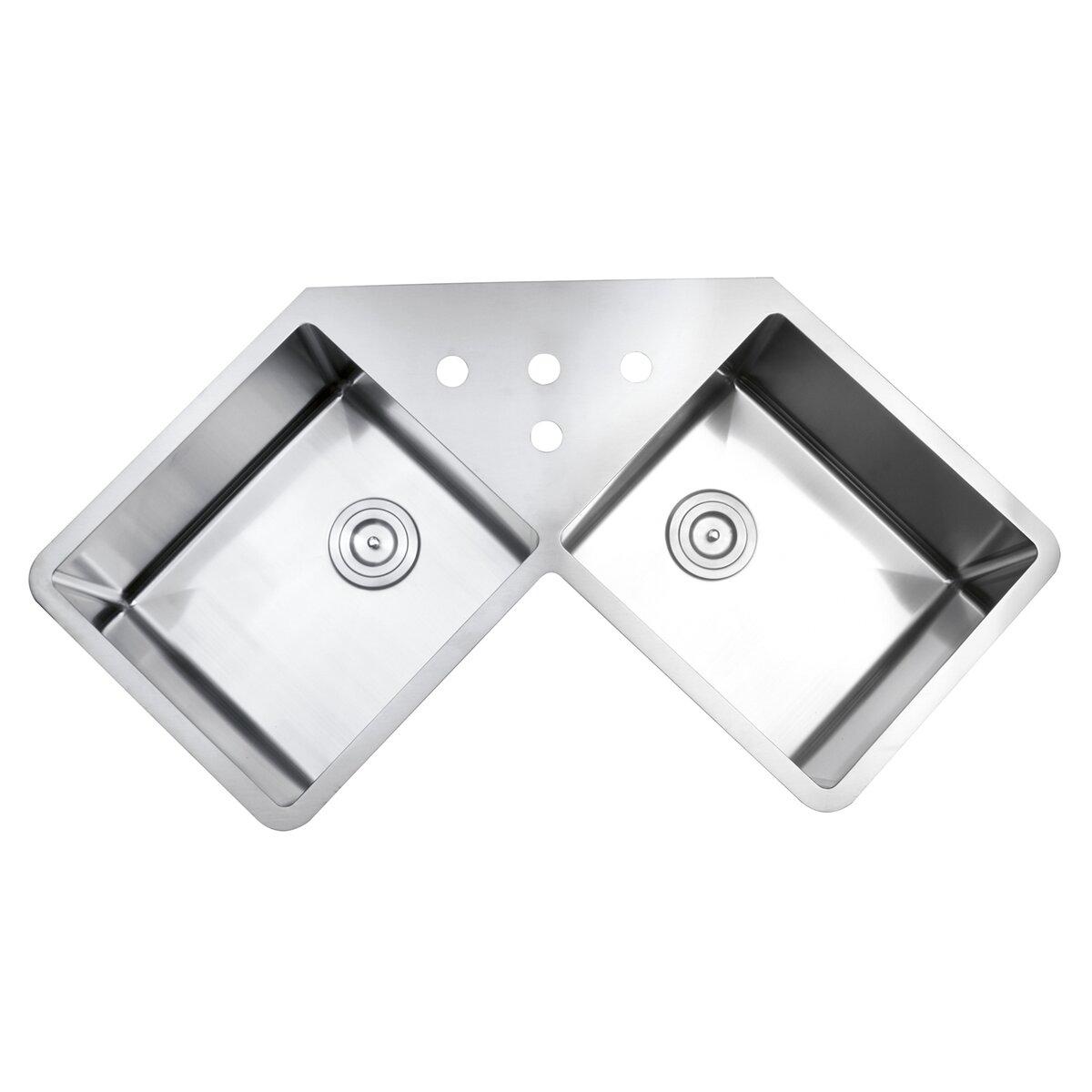 Gravena  X  Undermount Double Bowl Kitchen Sink