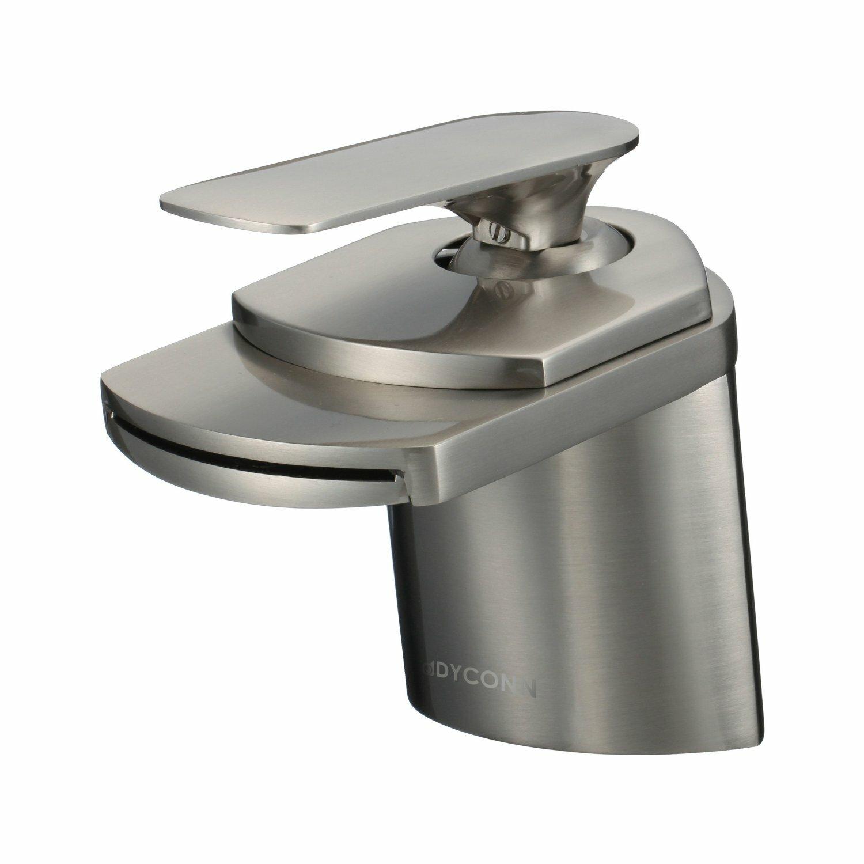 Dyconn Faucet Marble Single Handle Waterfall Bathroom Sink Faucet Reviews Wayfair