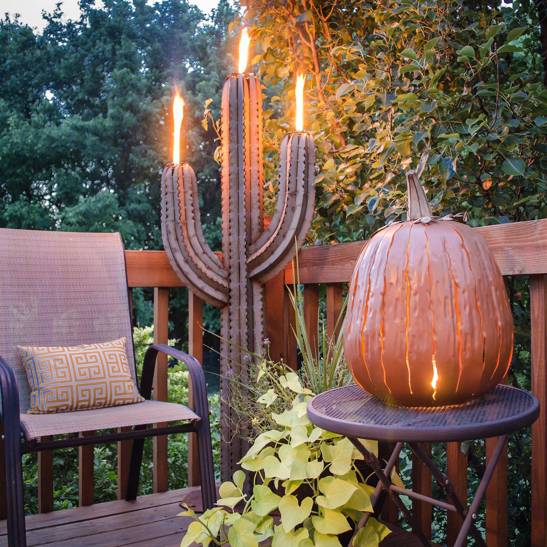 desert steel great pumpkin lantern decoration reviews. Black Bedroom Furniture Sets. Home Design Ideas