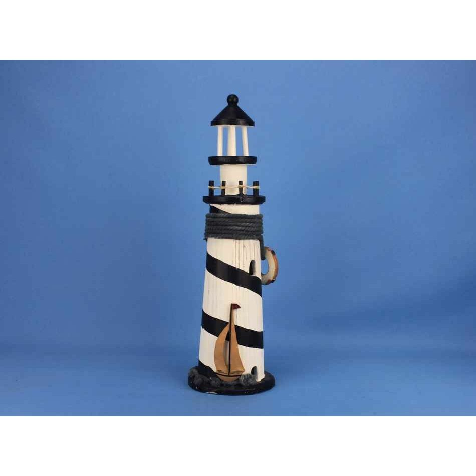 Handcrafted Nautical Decor Rustic Island Lighthouse