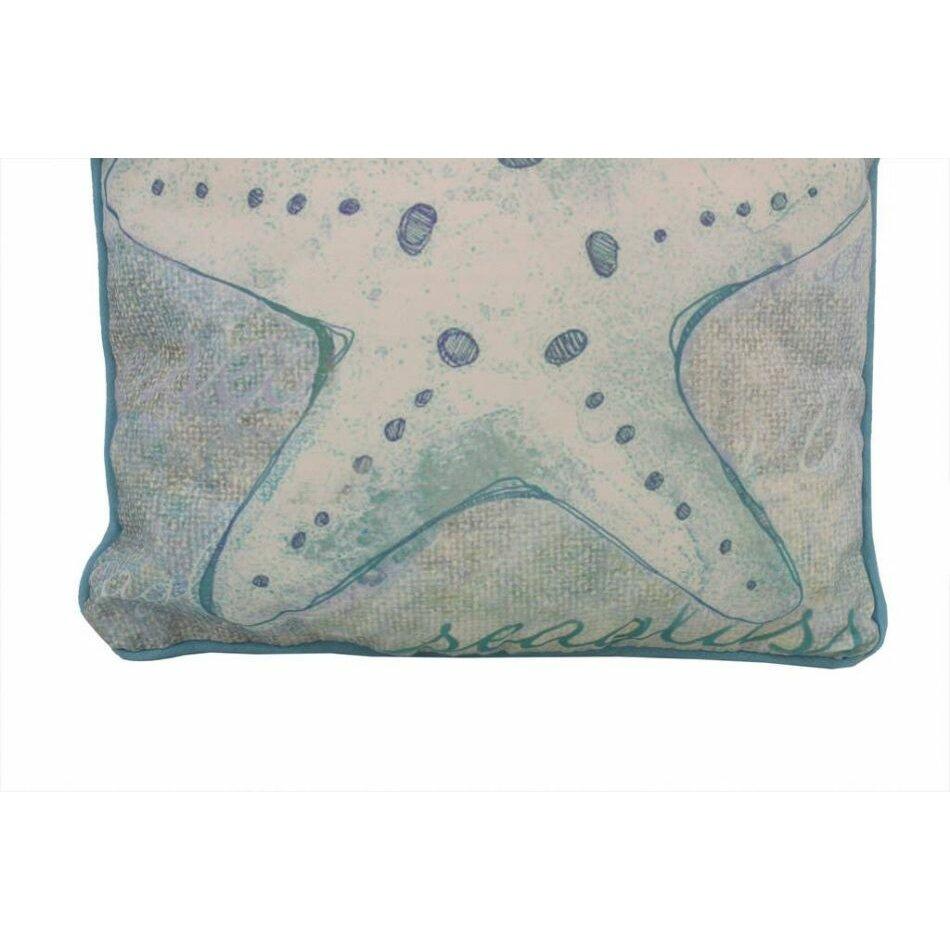 Handcrafted Nautical Decor Starfish Throw Pillow Wayfair