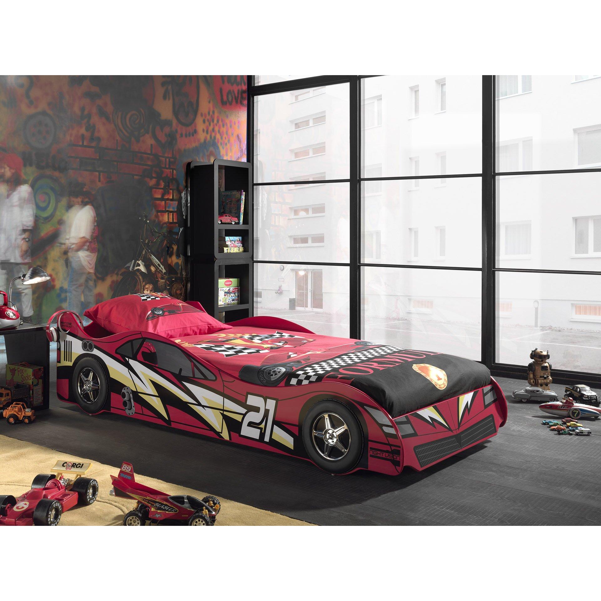 Cars Bett 90x200: Vipack Autobett Sport Car, 90 X 200 Cm