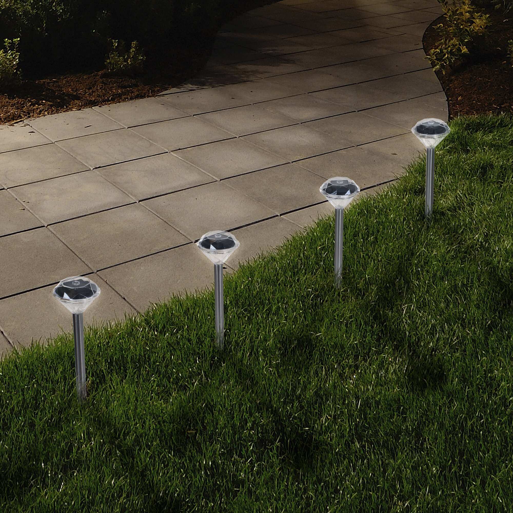 Outdoor Pathway Lighting Kits : Pure garden light pathway kit reviews wayfair