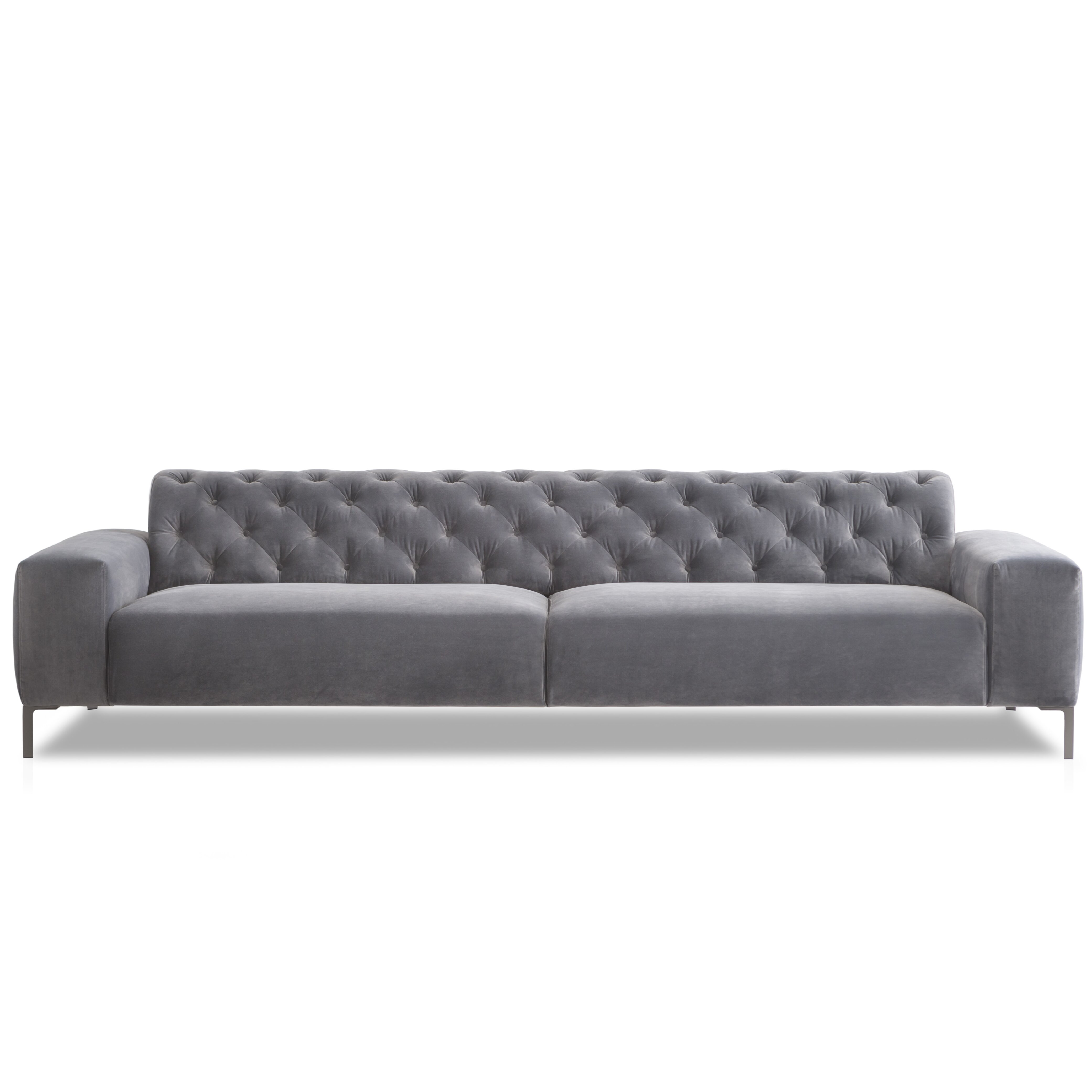 Pianca Usa Boston Capitonn With Tufted Back Sofa