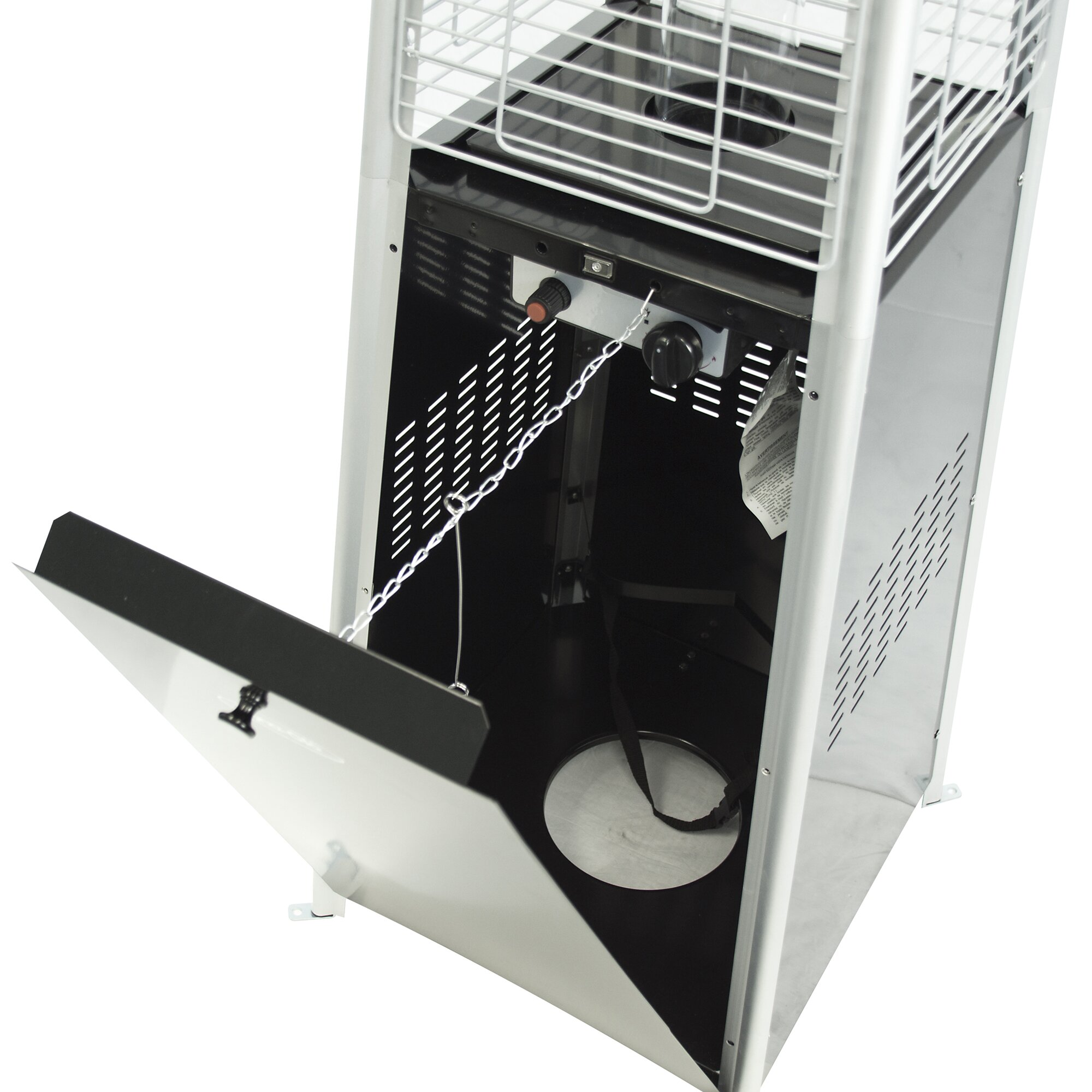 Dyna Glo 42 000 BTU Pyramid Flame Propane Patio Heater Wayfair