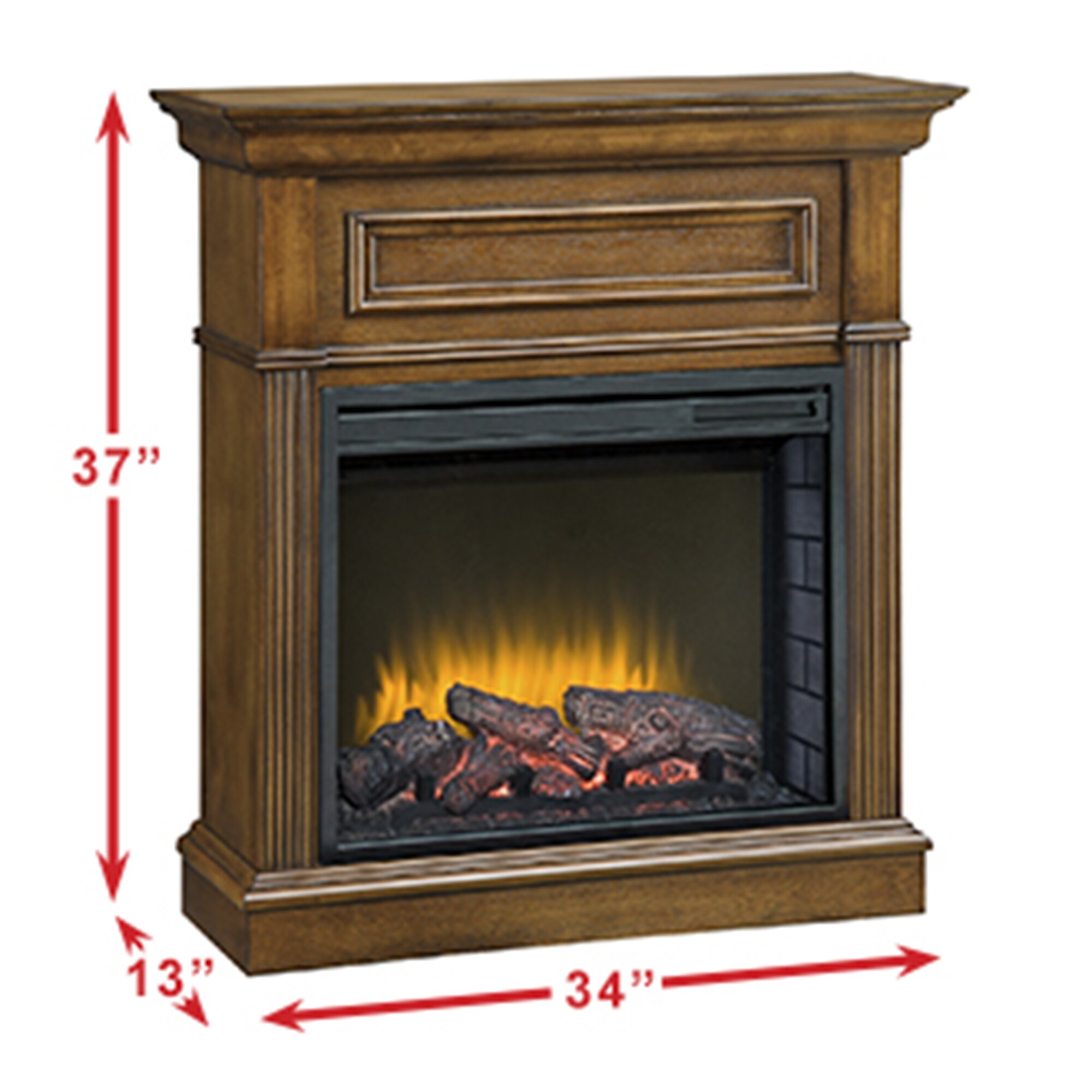 Pleasant Hearth: Pleasant Hearth Hawthorne Compact Electric Fireplace