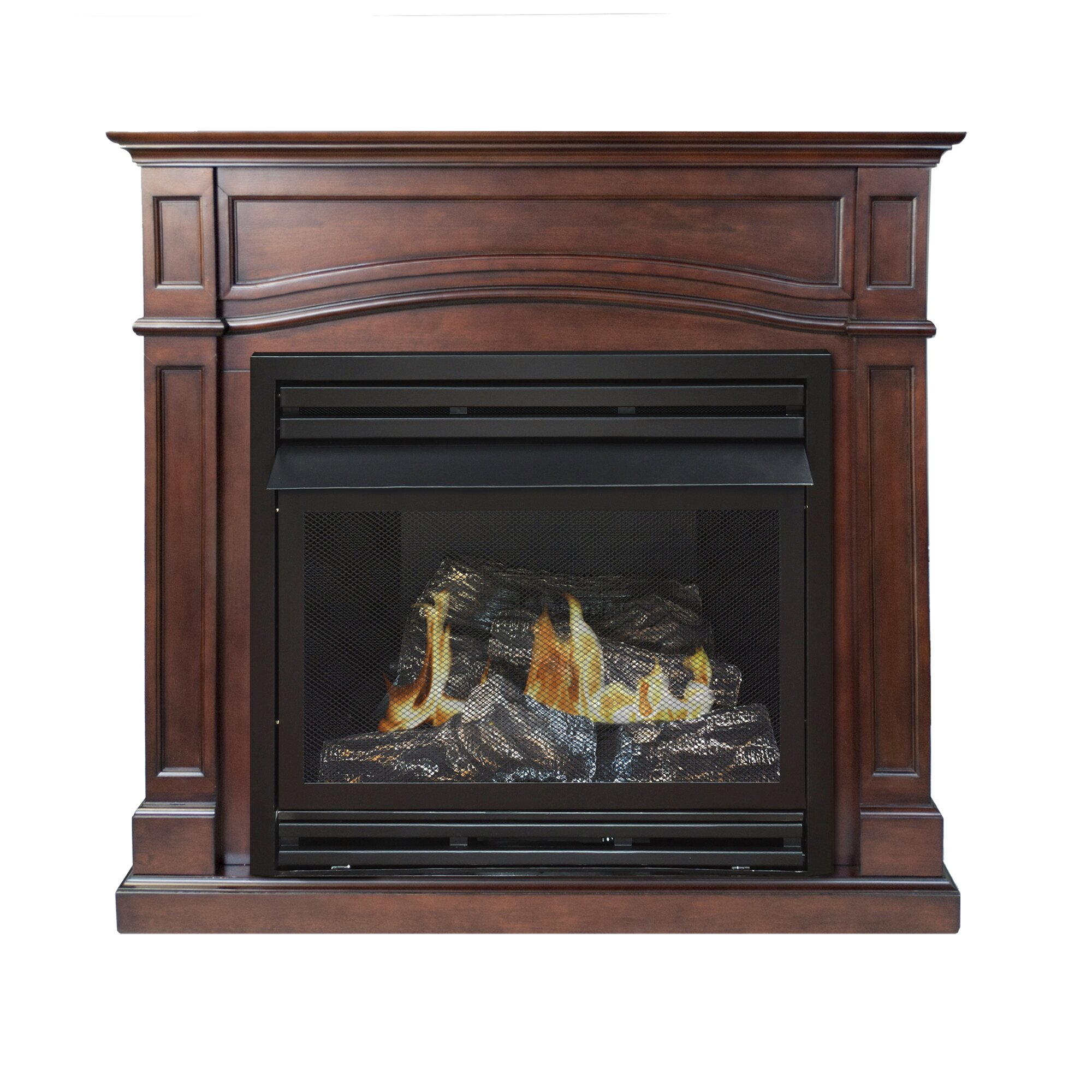 Pleasant Hearth: Pleasant Hearth Dual Fuel Vent Free Gas Fireplace