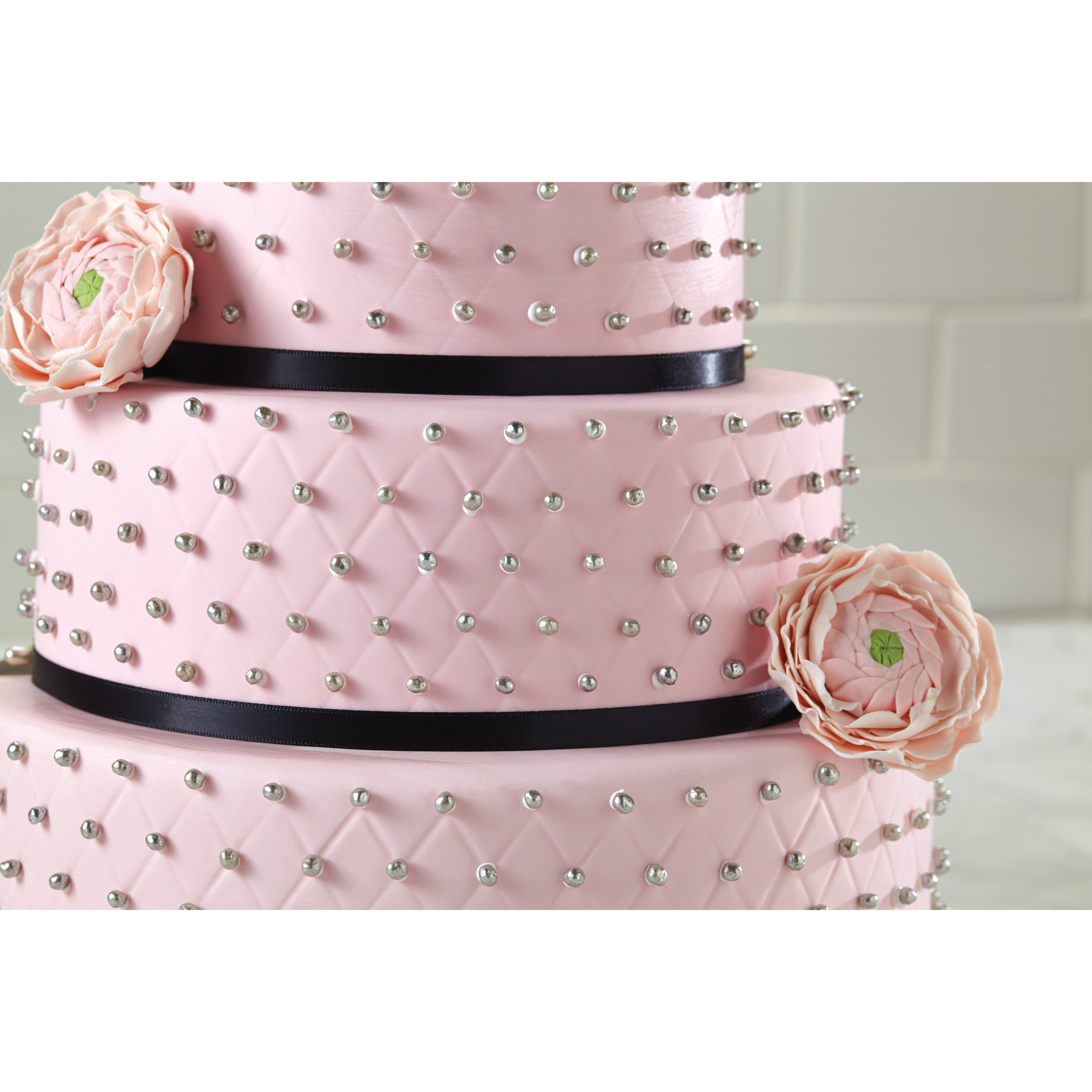 Cake Boss 4 Piece Quilted Fondant Imprint Mat Set