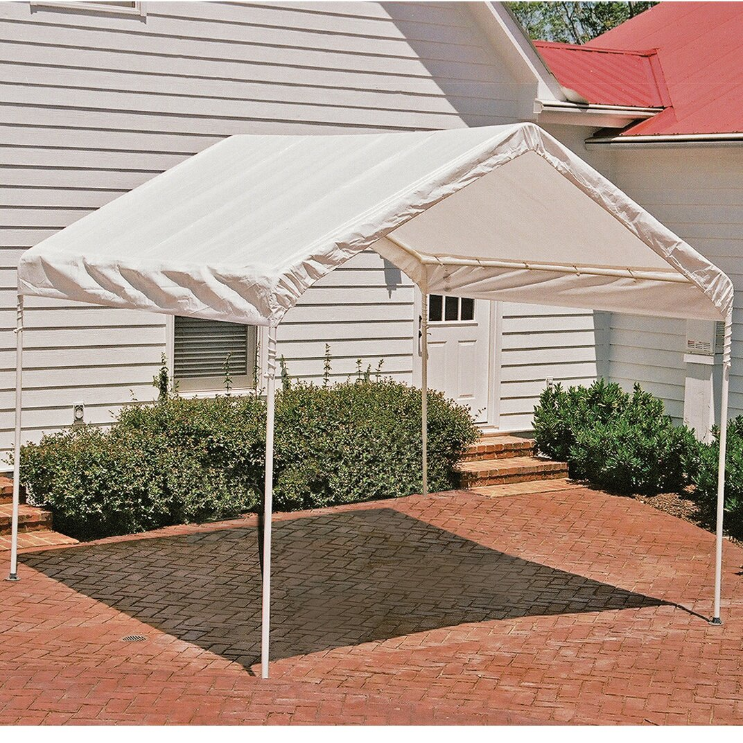 Shelterlogic max ap 10 ft w x 10 ft d canopy reviews for 10 x 9 square feet