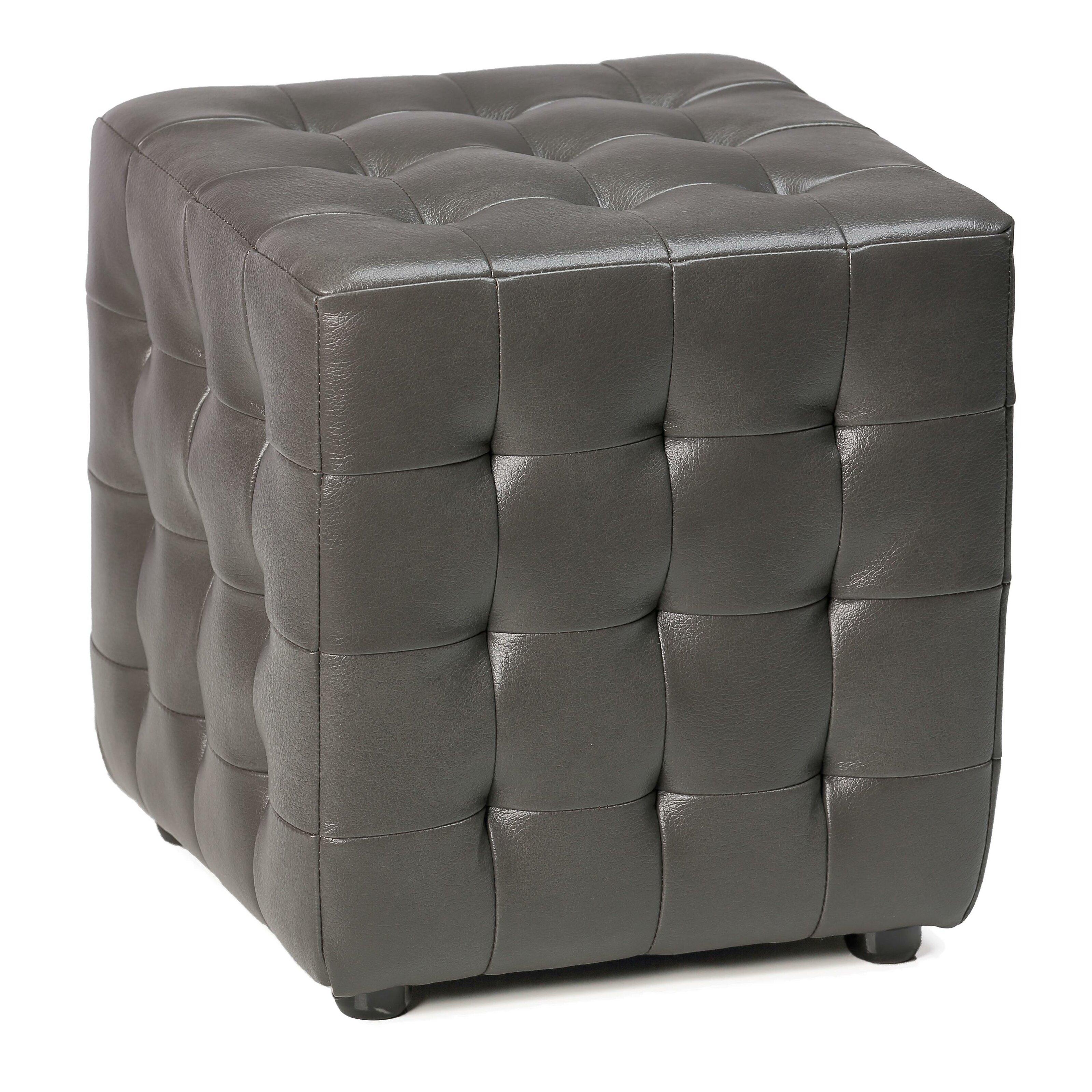 Cortesi Home Izzo Cube Ottoman Reviews Wayfair