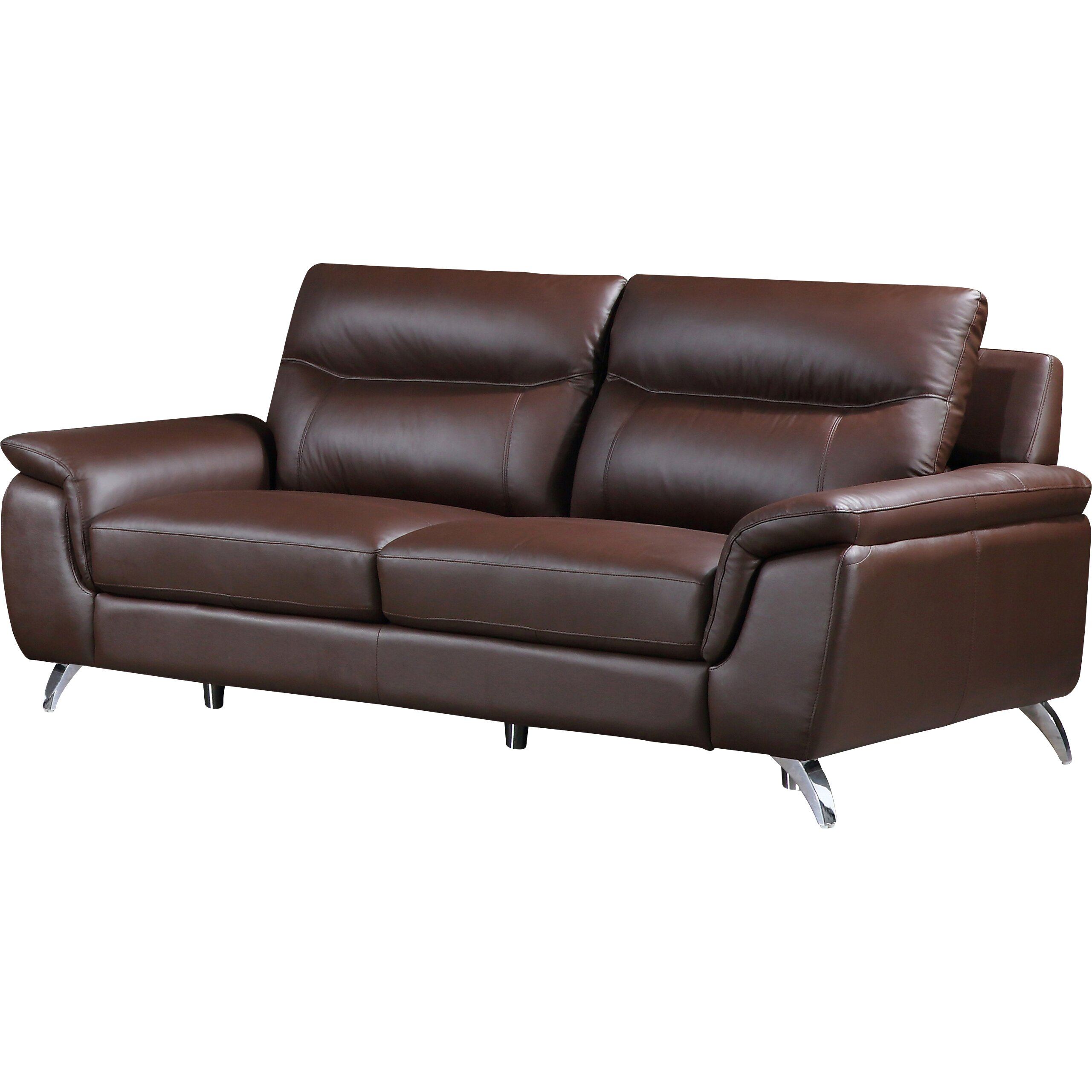 Reviews For Leather Sofas: Cortesi Home Chicago Leather Sofa & Reviews