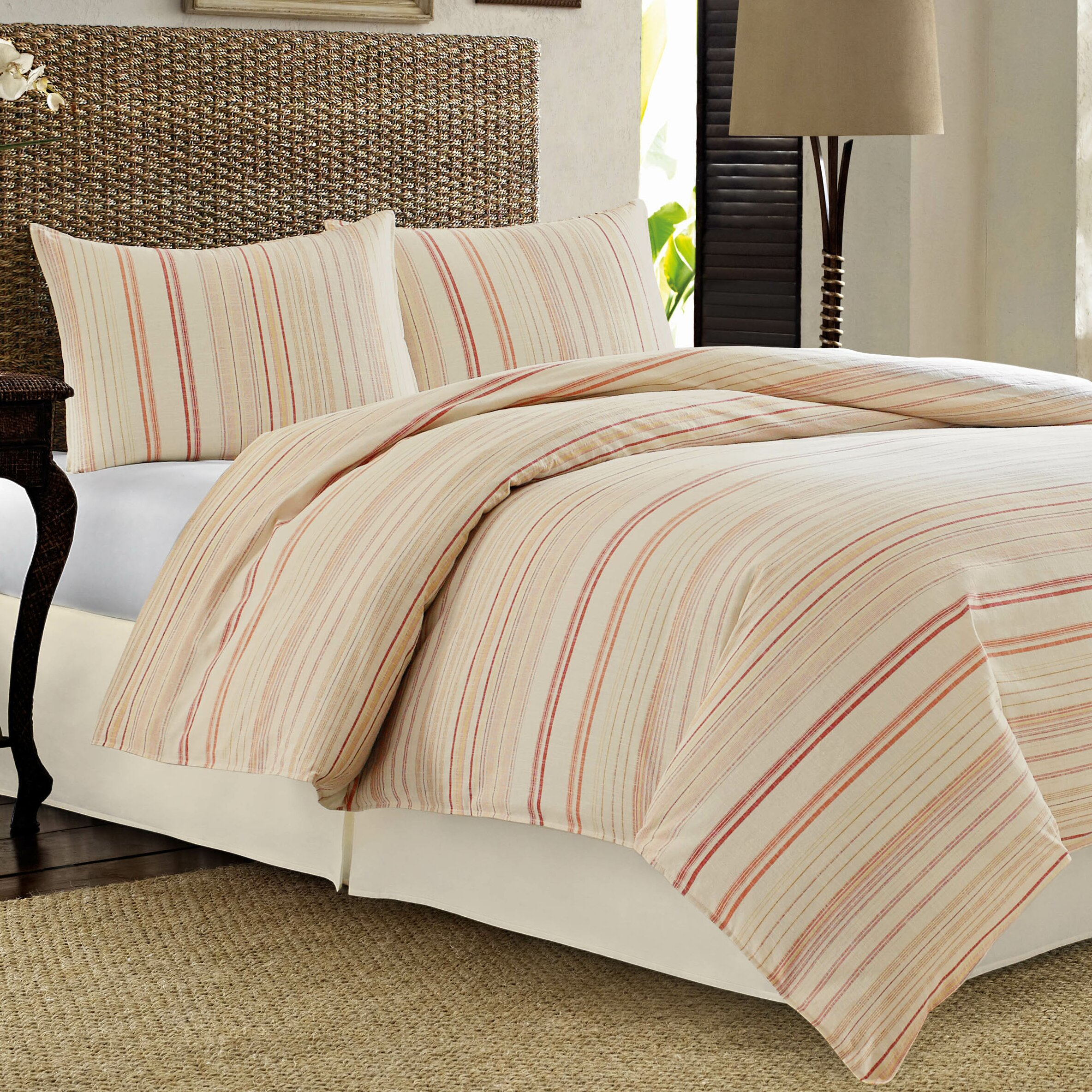 Tommy bahama bedding la scala breezer reversible duvet Tommy bahama bedding